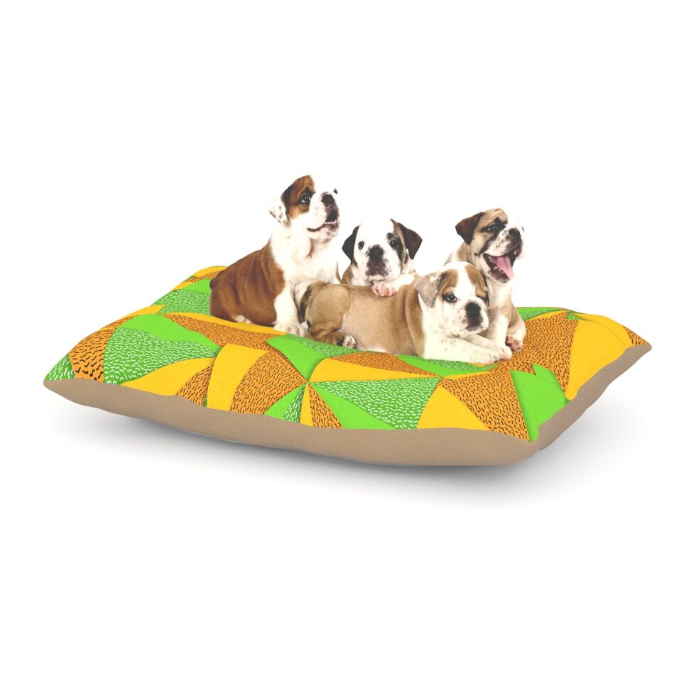 Danny Ivan 'This Side' Dog Pillow with Fleece Cozy Top Size: Small (40