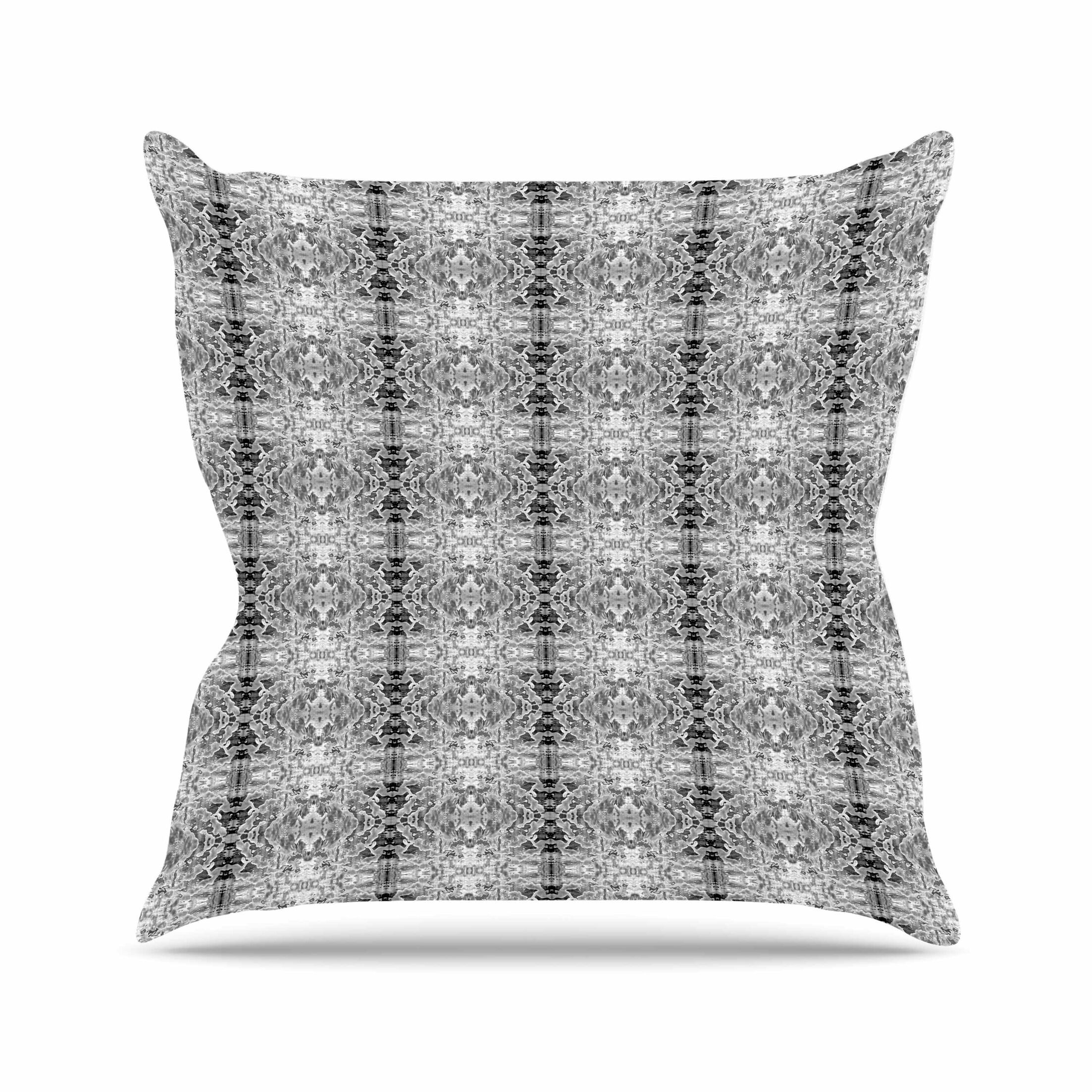 Bruce Stanfield Rage Against the Machine Outdoor Throw Pillow Size: 16
