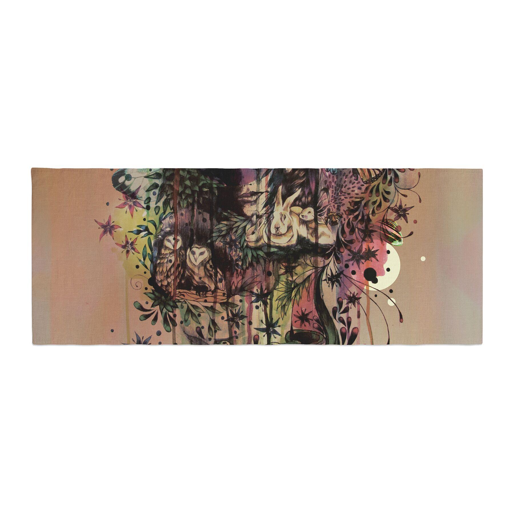 Mat Miller Doom and Bloom Rose Bed Runner