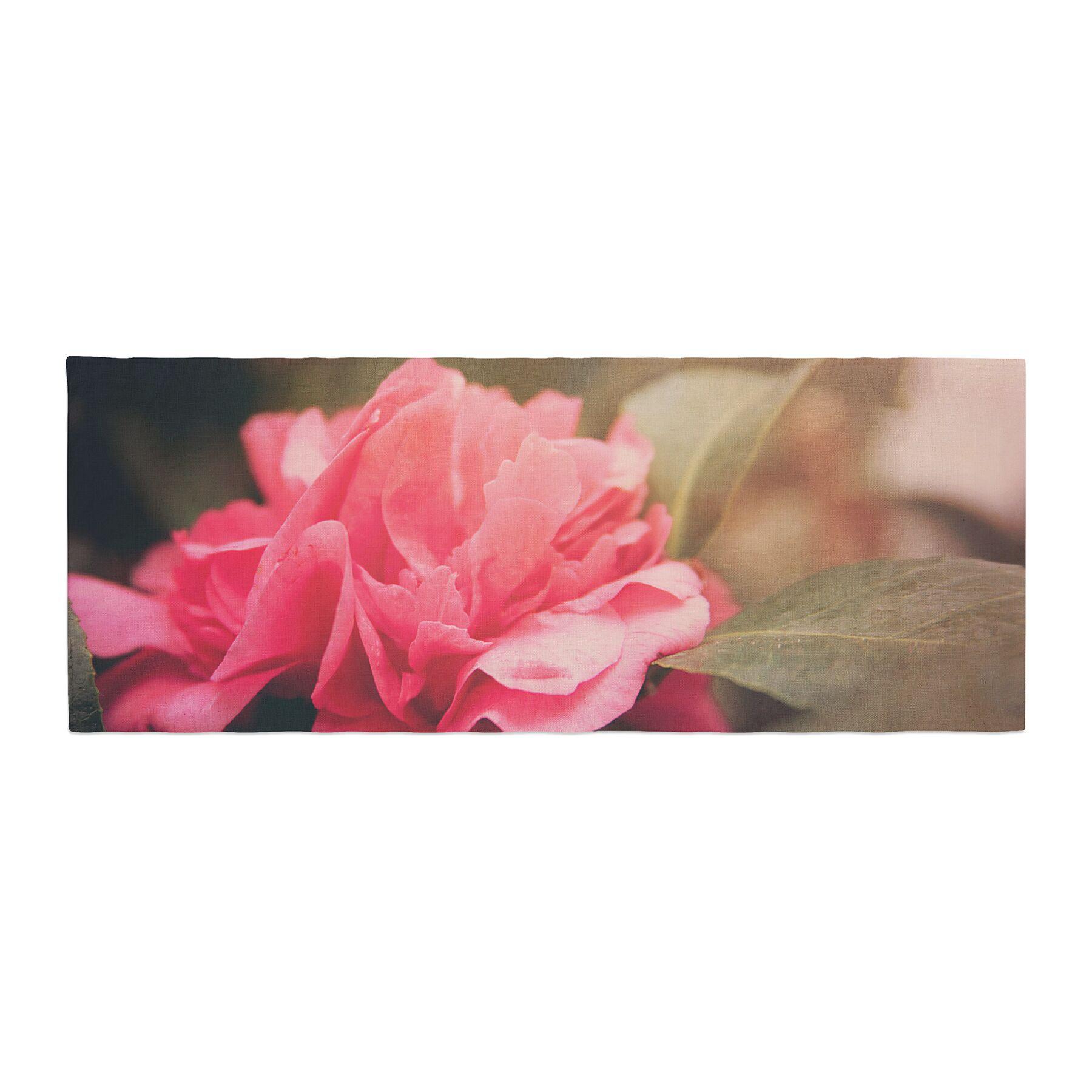 Angie Turner Camelia Flower Bed Runner
