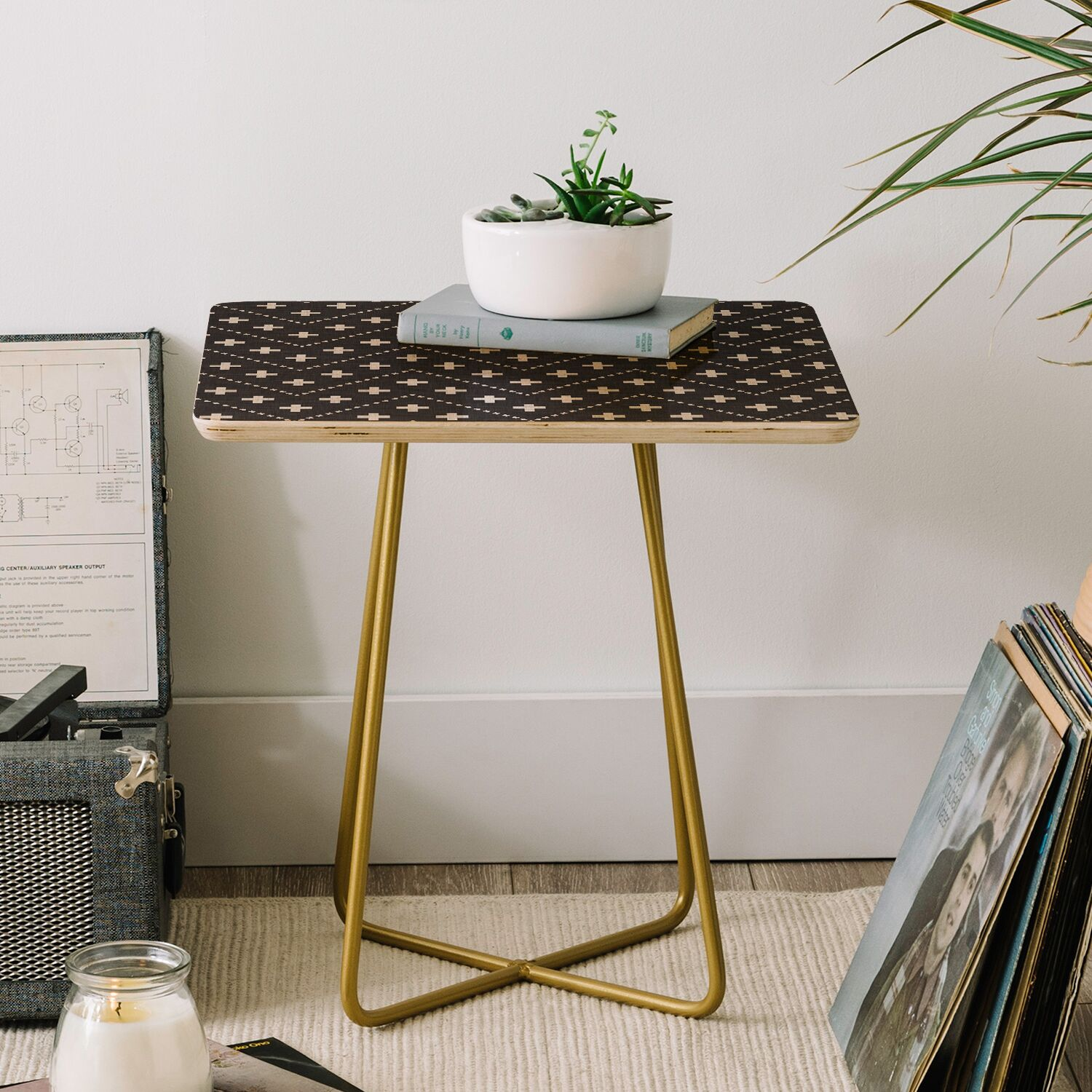 Holli Zollinger Dash and Plus End Table