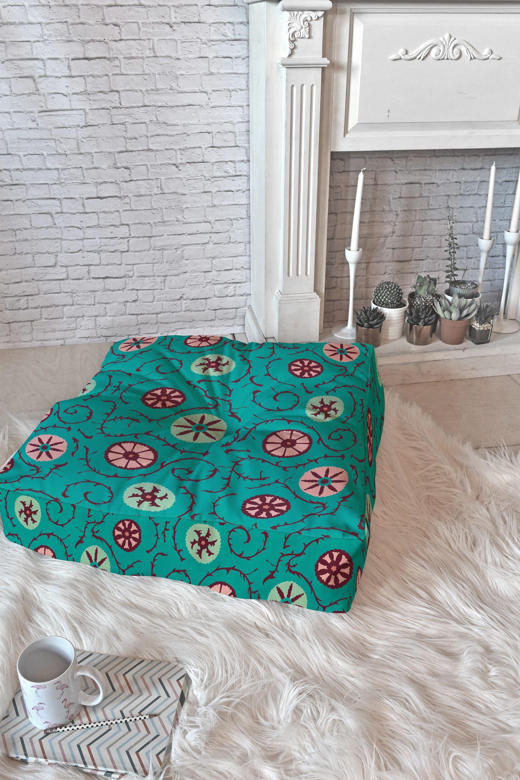 Holli Zollinger Floor Pillow Size: 26