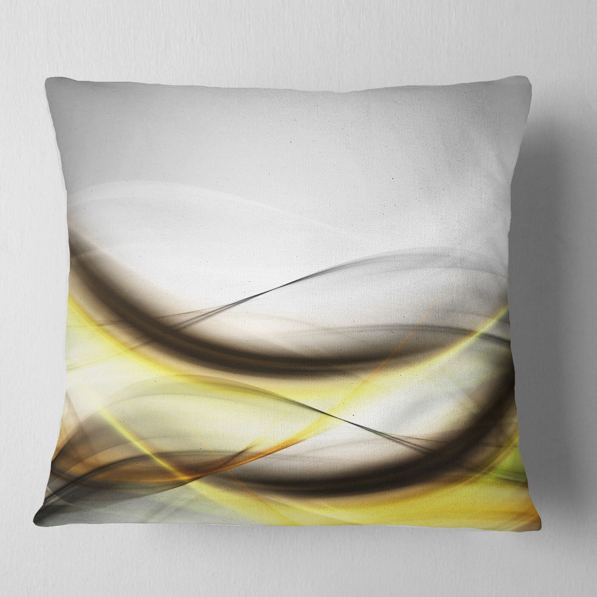 Abstract Waves Pillow Size: 16