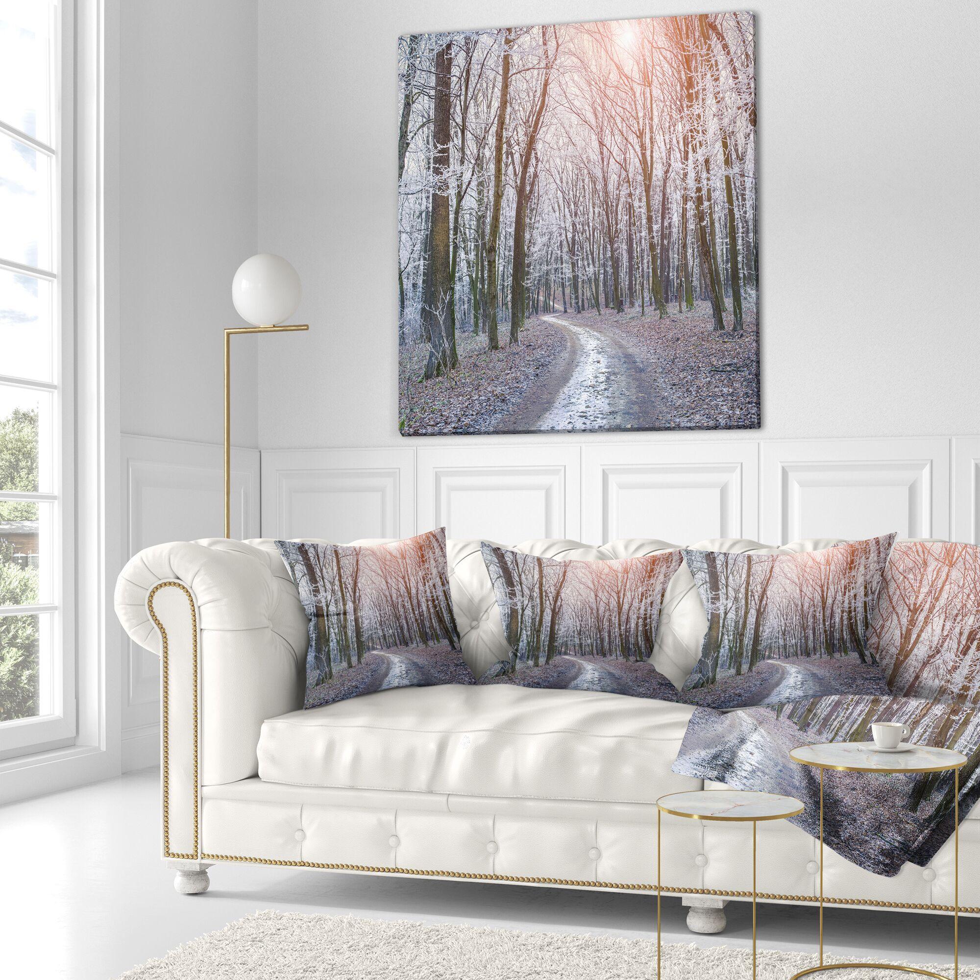 Landscape Photography Misty Trail Size: 26