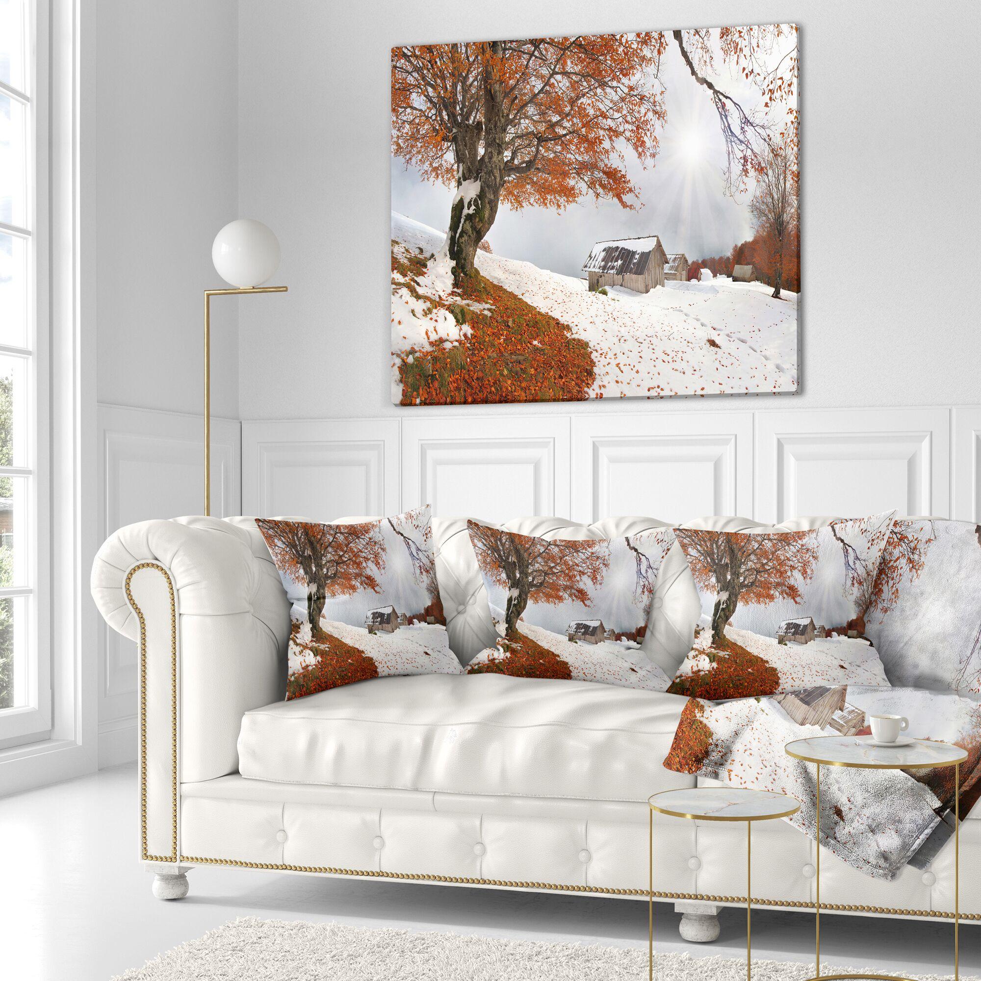 Landscape Photography Sudden Snow Size: 16