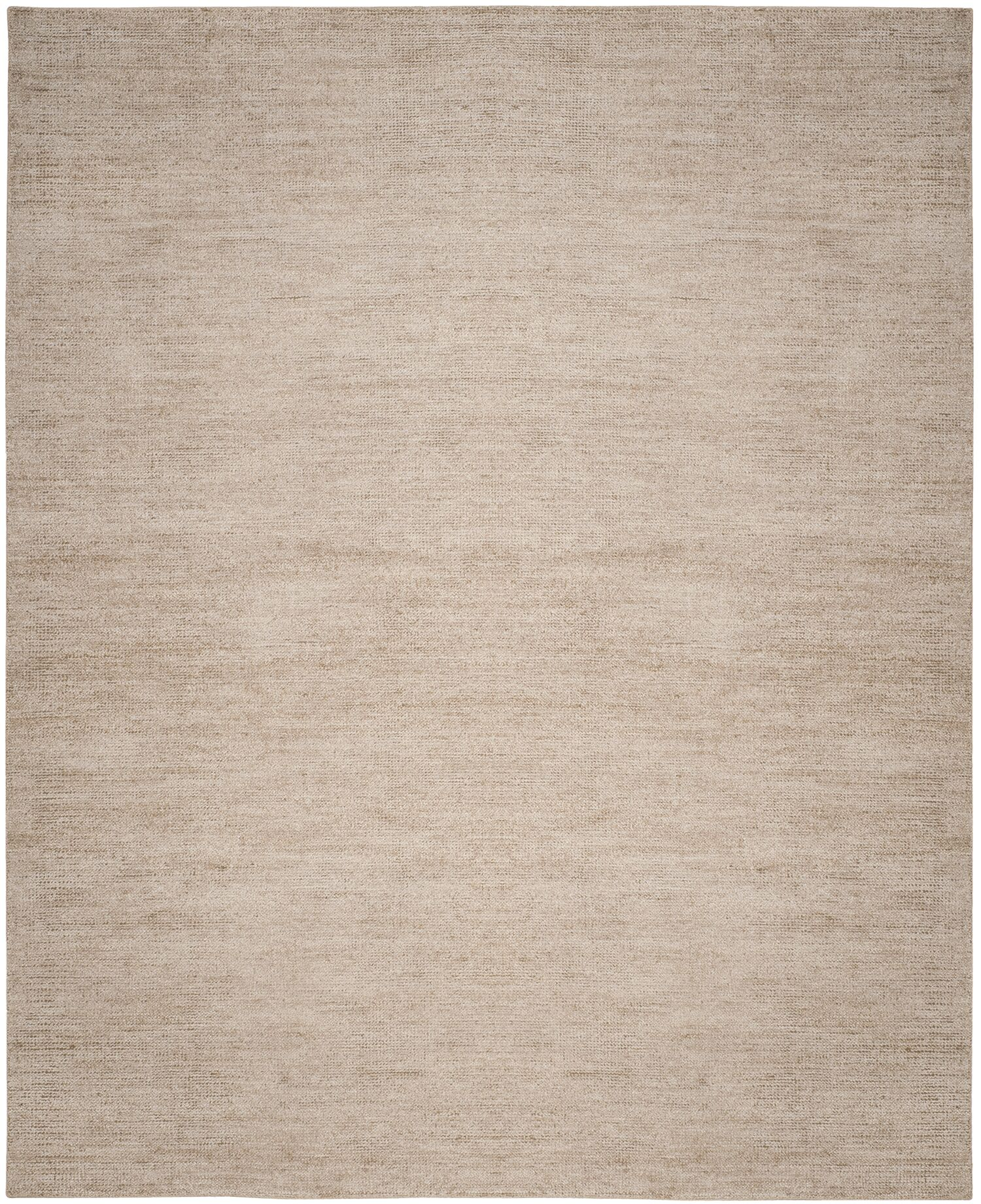 McArthur Hand-Knotted Beige Area Rug Rug Size: Rectangle 8' x 10'