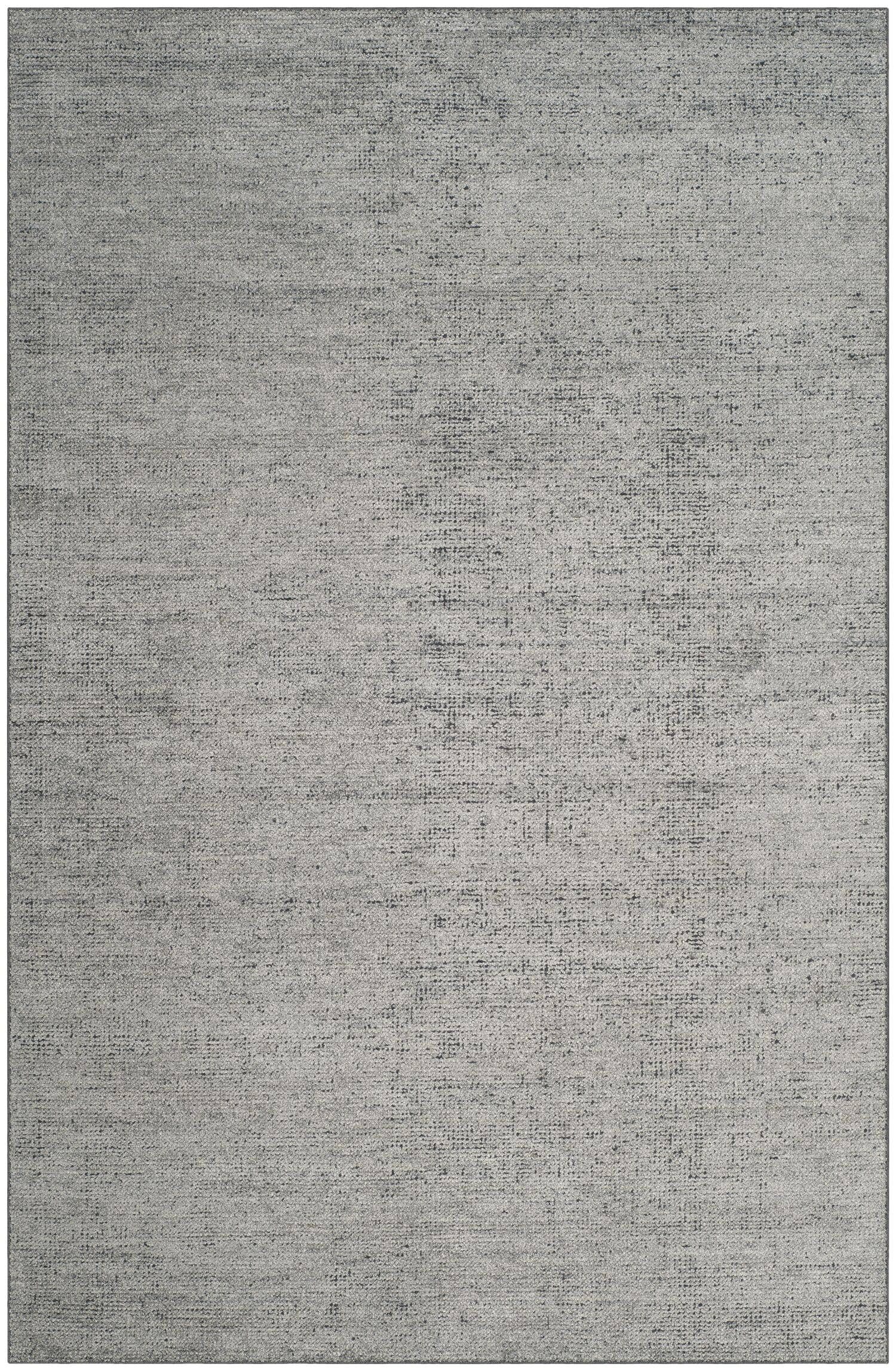McArthur Hand-Knotted Rectangle Gray Area Rug Rug Size: Rectangle 5' x 8'