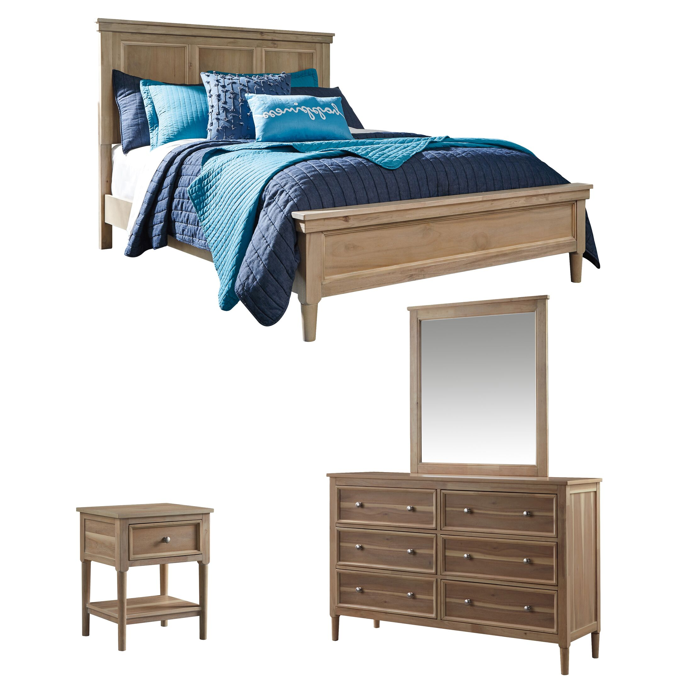 Orlovista Panel Configurable Bedroom Set