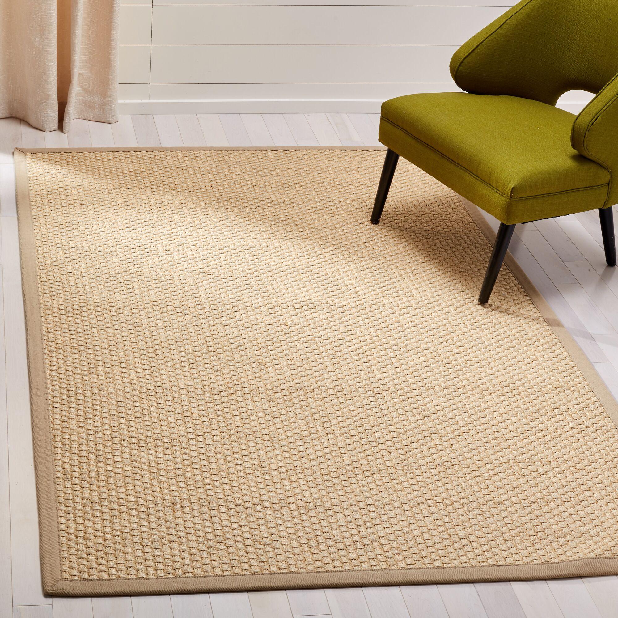 Chalfant Beige Area Rug Rug Size: Rectangle 6' x 9'