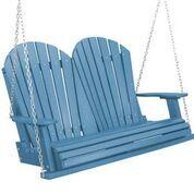 Patricia Porch Swing Color: Powder Blue