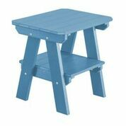 Patricia 2 Tier End Table Color: Powder Blue