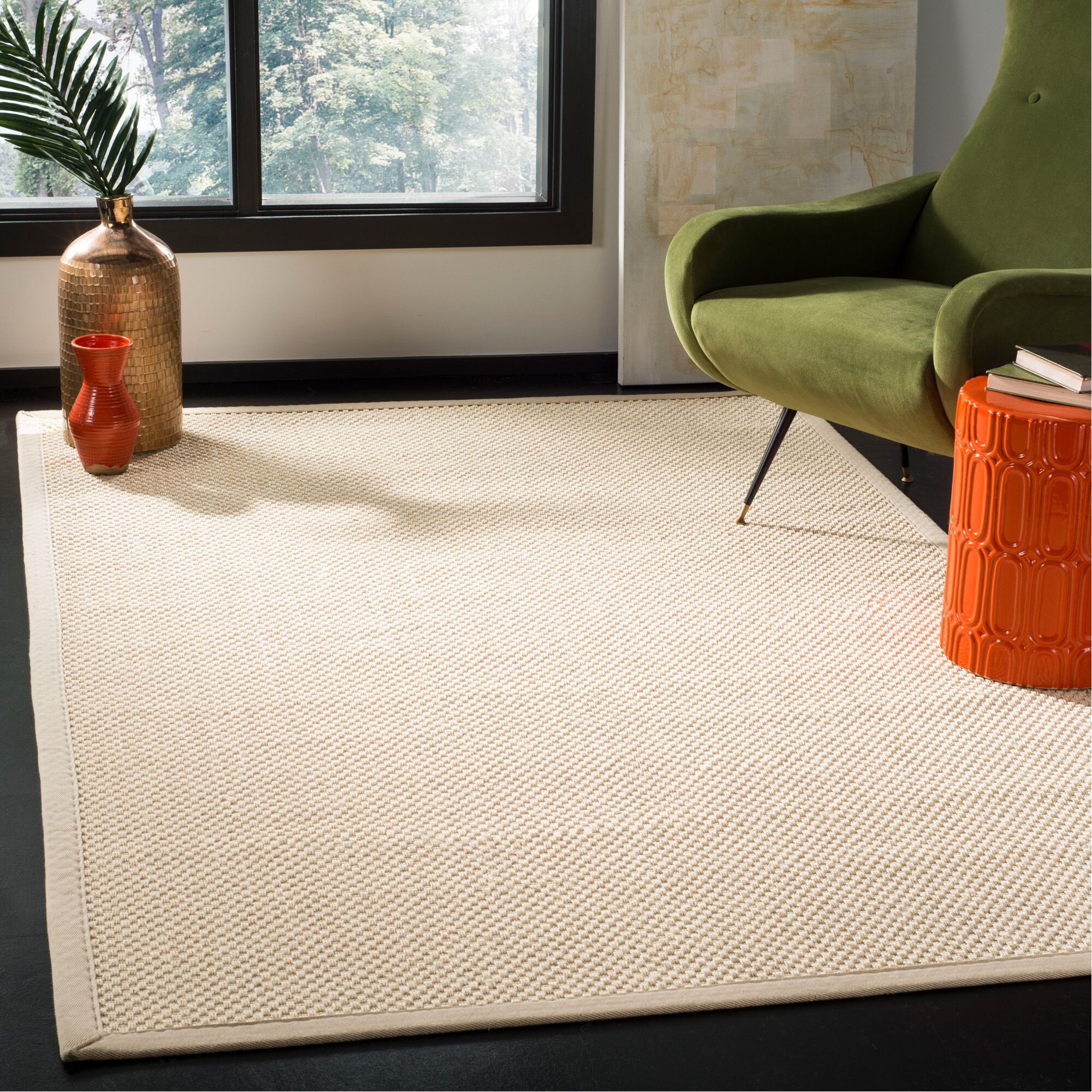 Chaidez Beige Ivory Area Rug Rug Size: Rectangle 5' x 8'