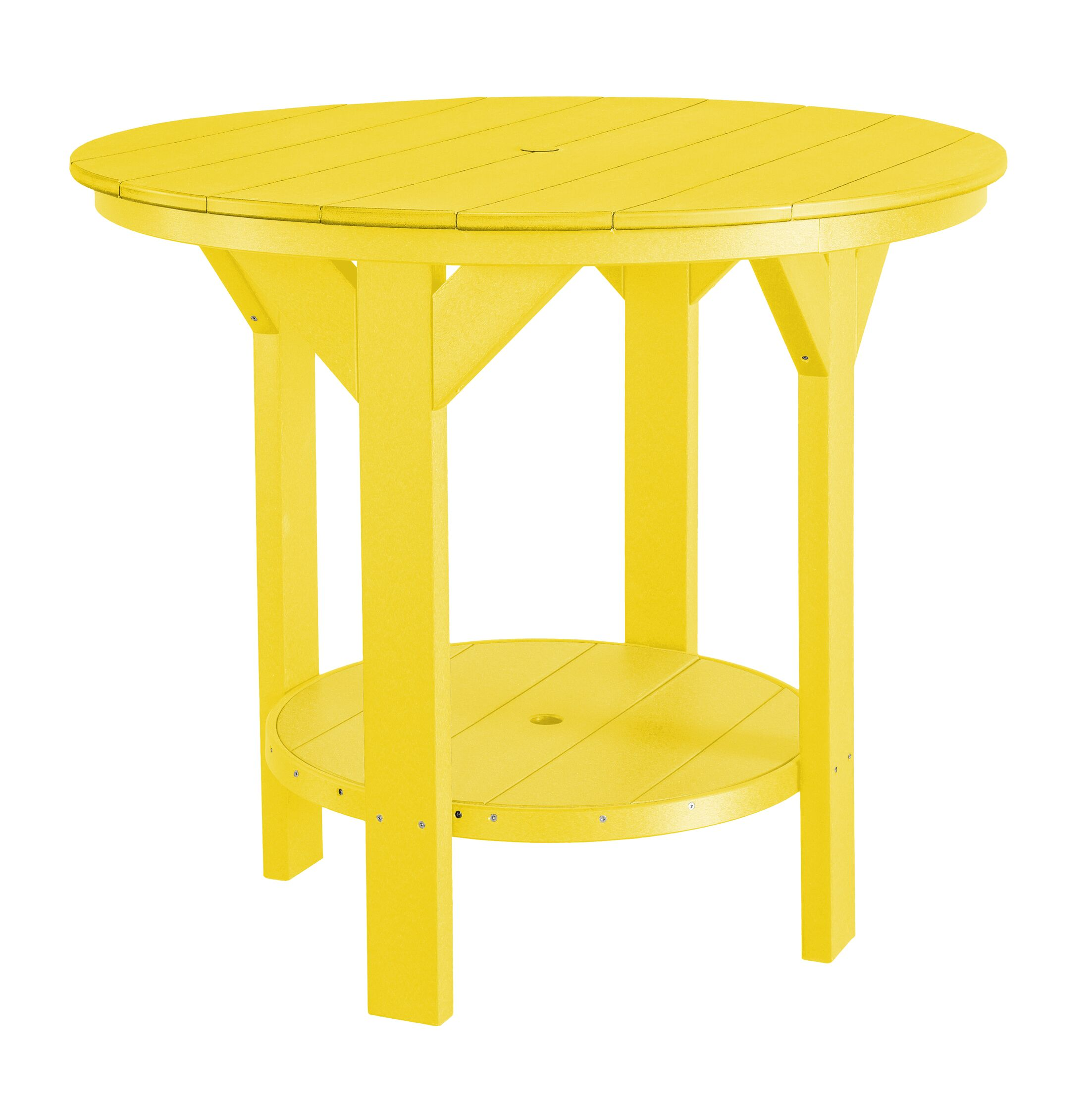 Patricia Bar Table Color: Lemon Yellow