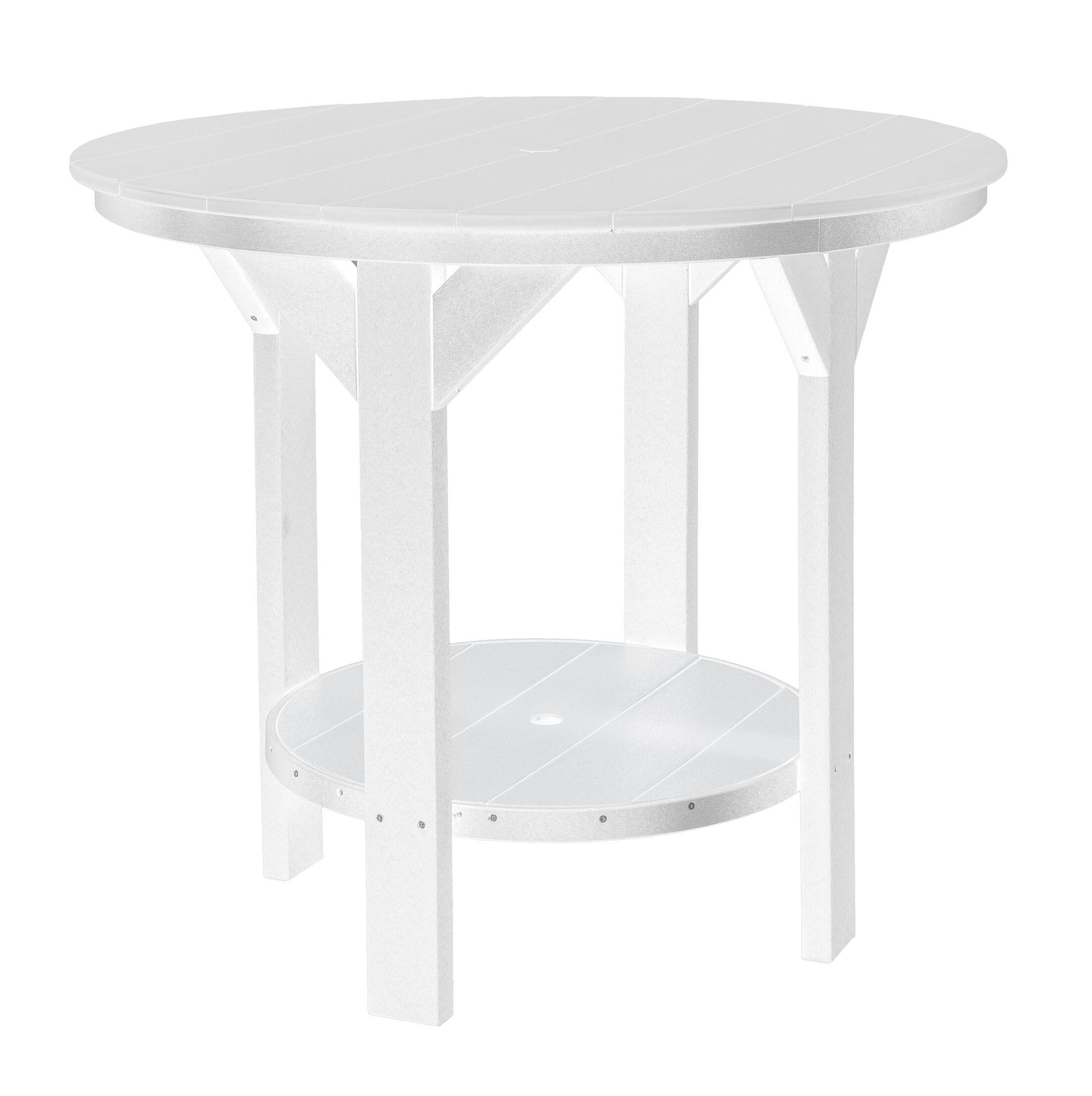 Patricia Bar Table Color: White