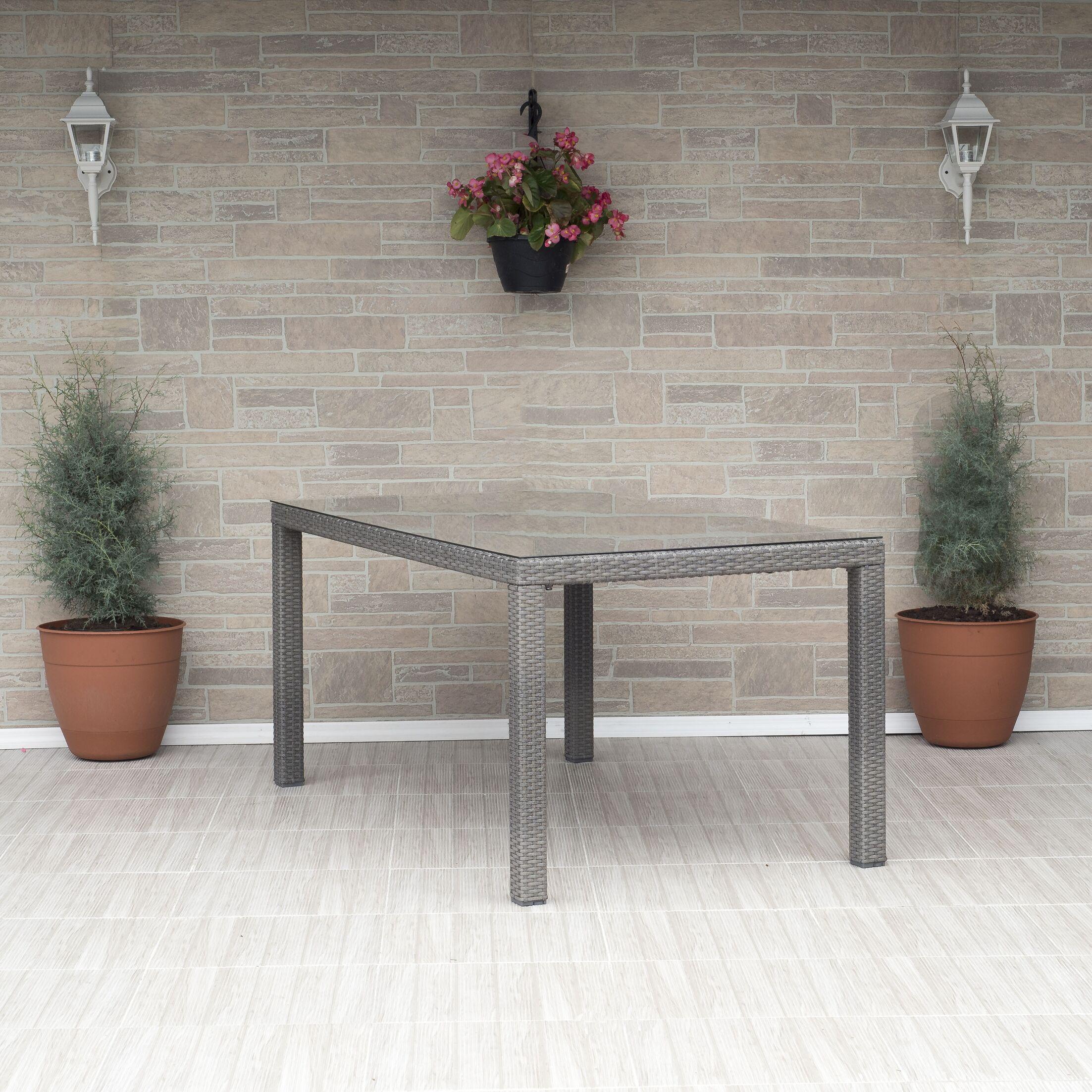 Penrock Liberty Rectangular Dining Table Finish: Gray