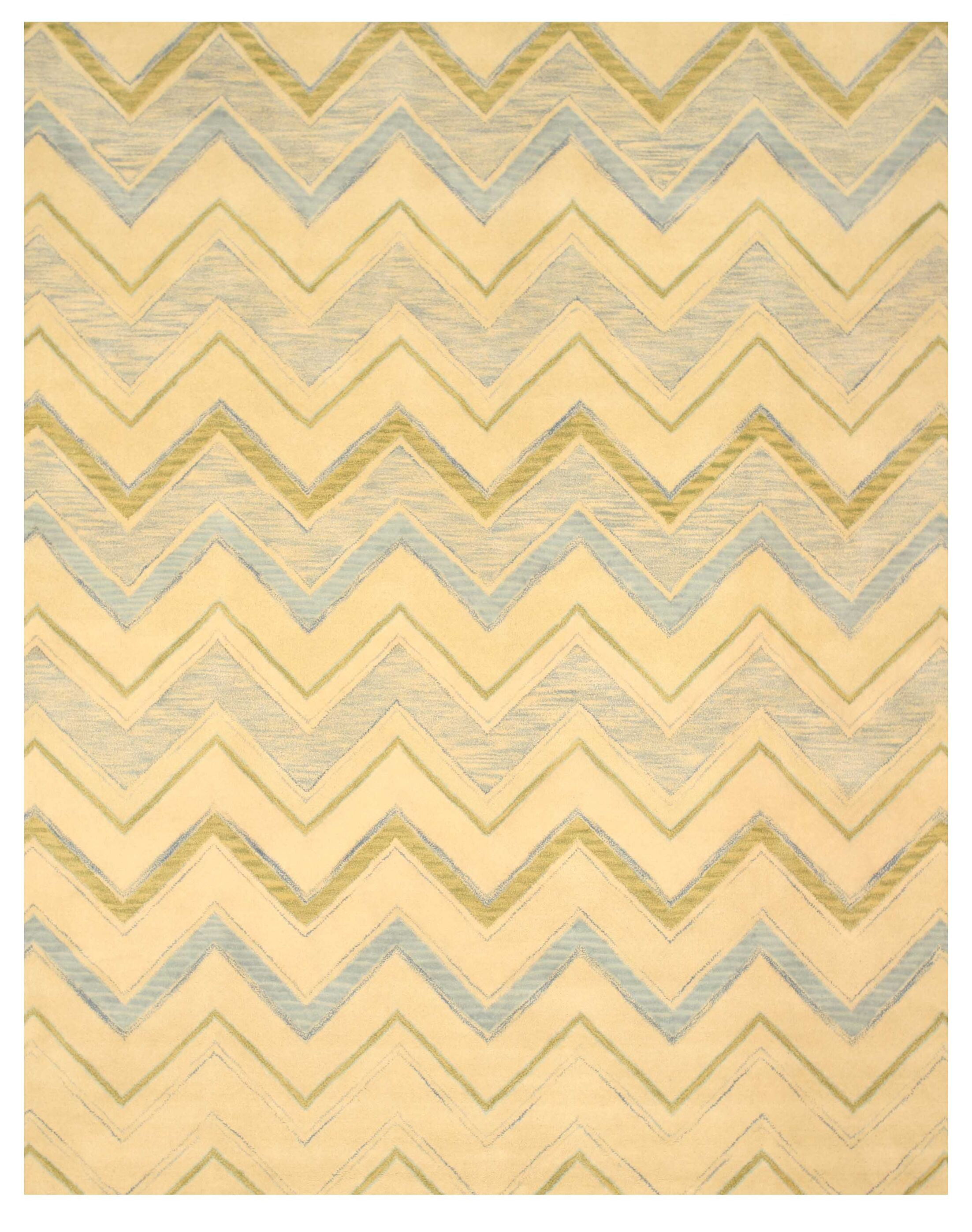 Ladd Hand-Tufted Ivory Area Rug Rug Size: Rectangle 5' x 8'