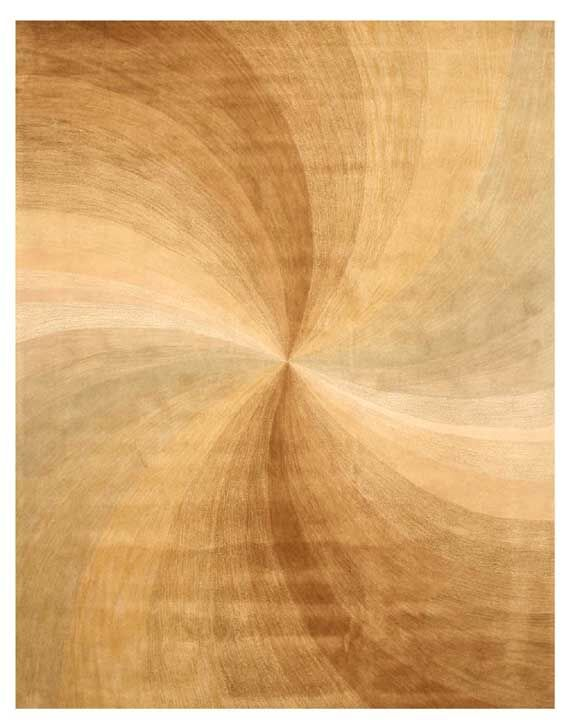 Lookingglass Hand-Tufted Beige Area Rug Rug Size: Rectangle 8'9