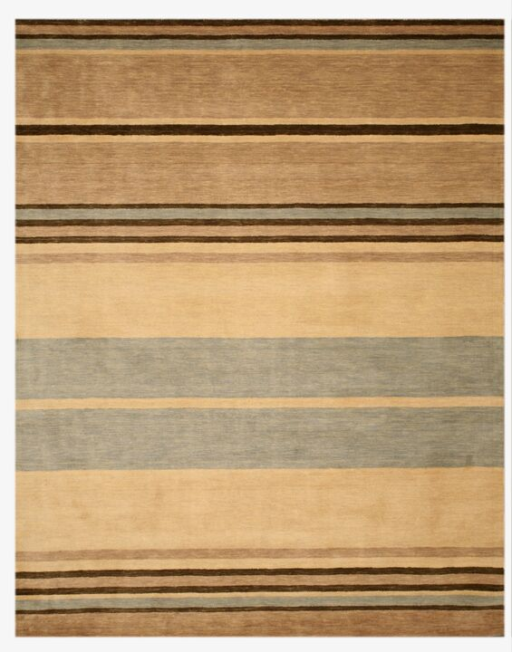 Luper Hand-Tufted Brown Area Rug Rug Size: 5' x 8'