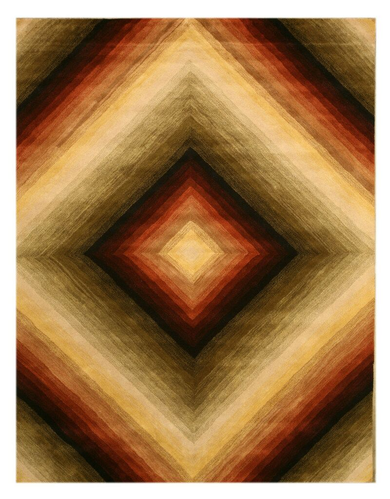 Mabel Hand-Woven Area Rug Rug Size: Rectangle 7'9