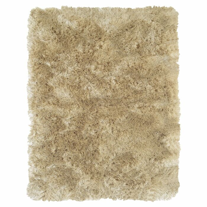 Mckee Hand-Tufted Beige Area Rug Rug Size: Rectangle 3'6