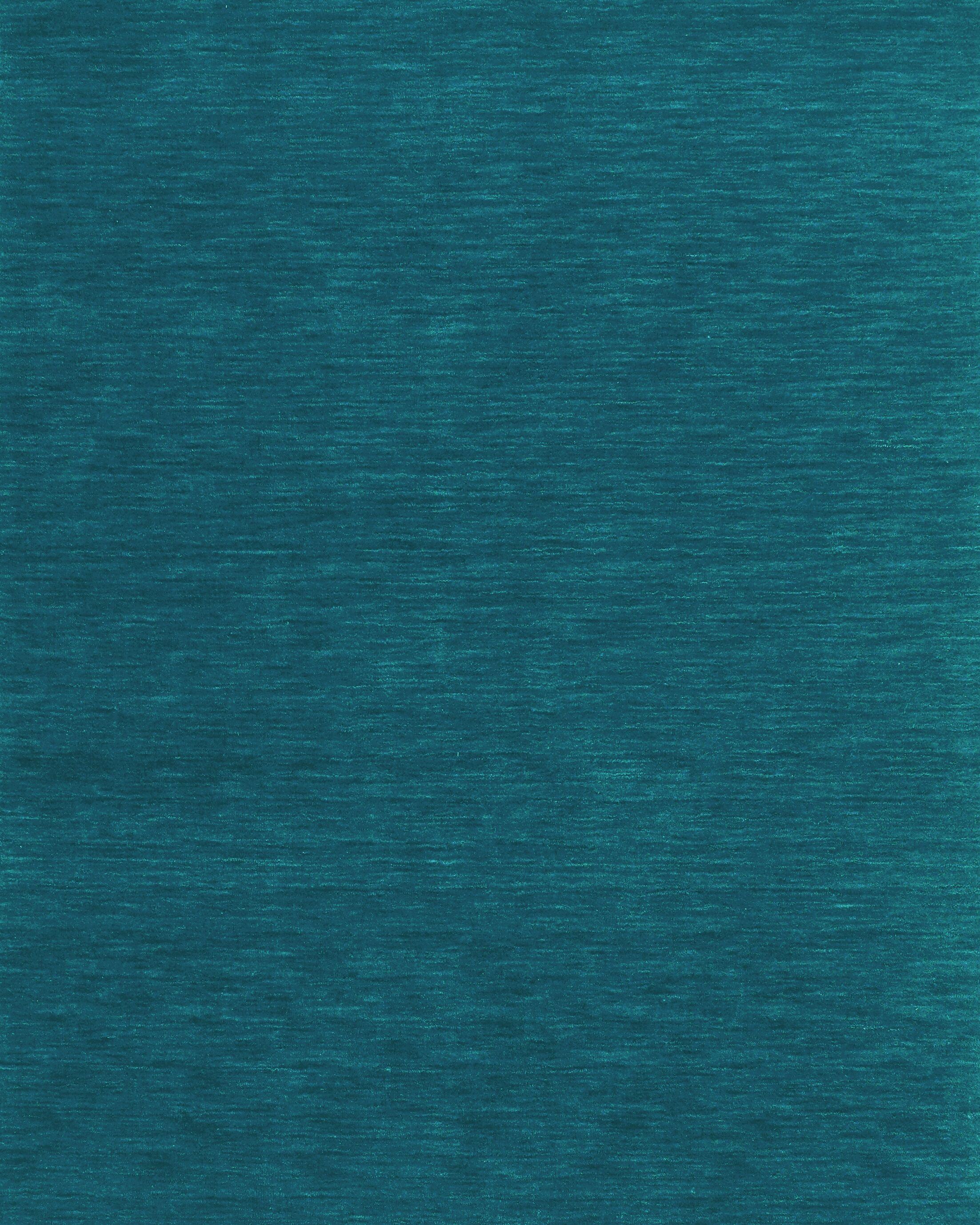 Blue Area Rug Rug Size: Rectangle 9'6