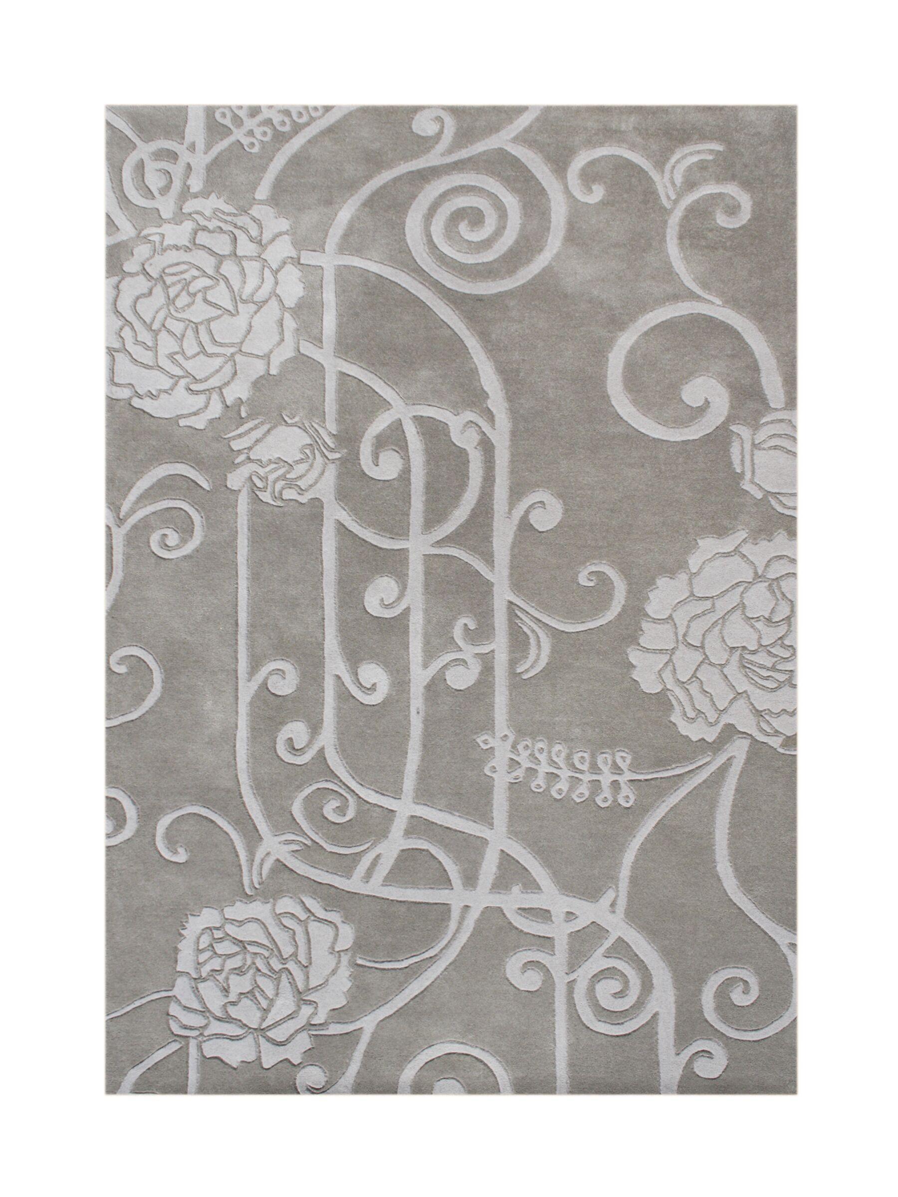 Sprague Hand-Tufted Gray Area Rug Rug Size: Rectangle 5' x 8'