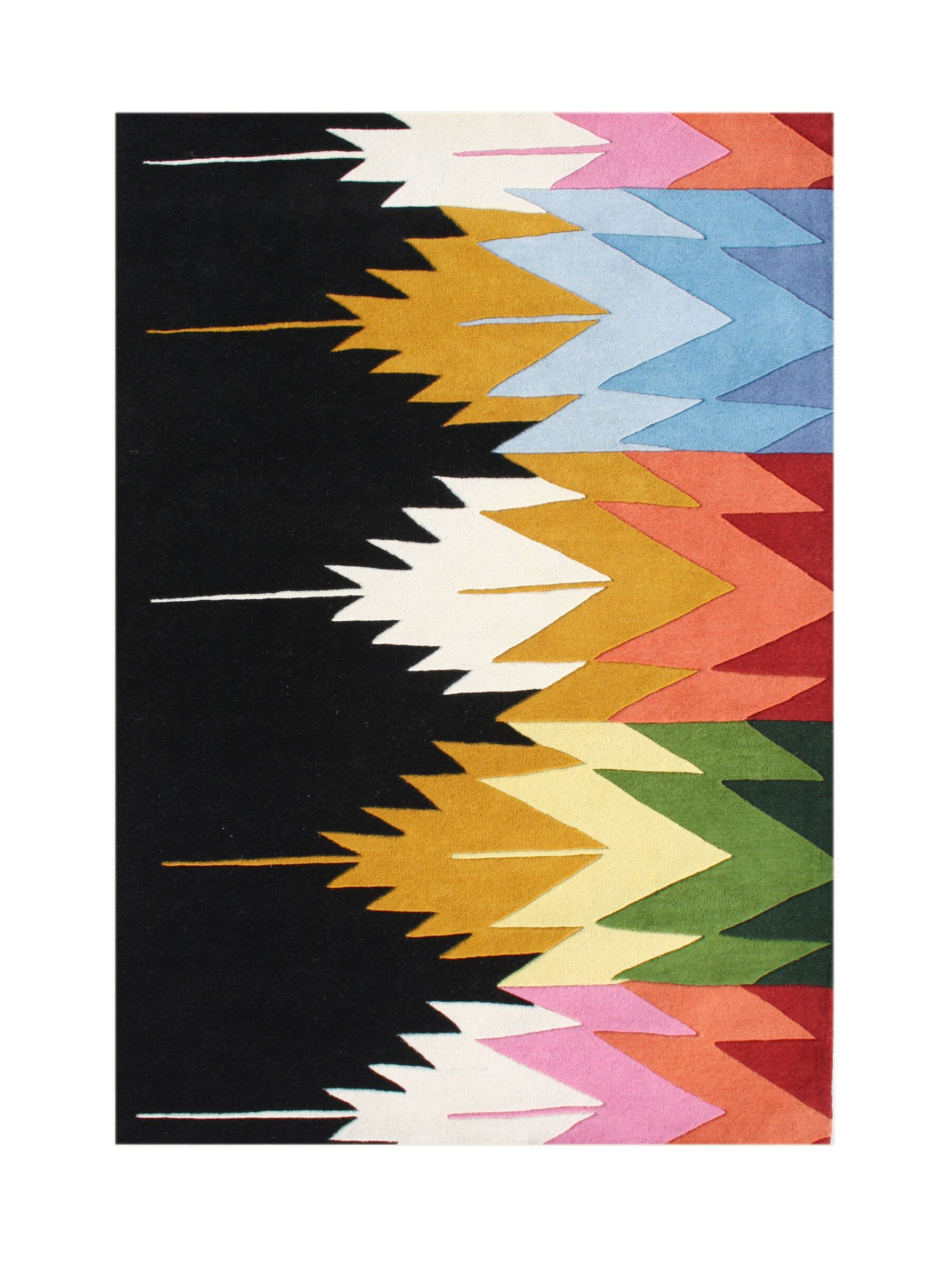 Whitney Hand-Tufted Area Rug Rug Size: Rectangle 9' x 12'