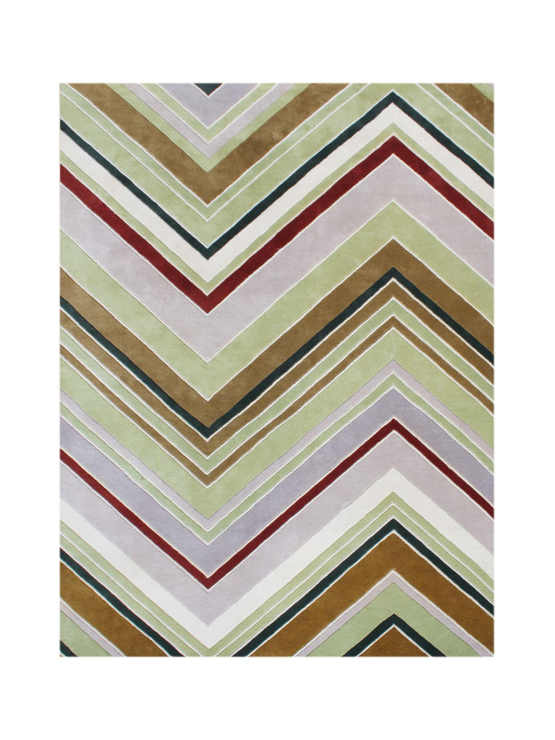 Wyeth Hand-Tufted Area Rug Rug Size: Rectangle 5' x 8'