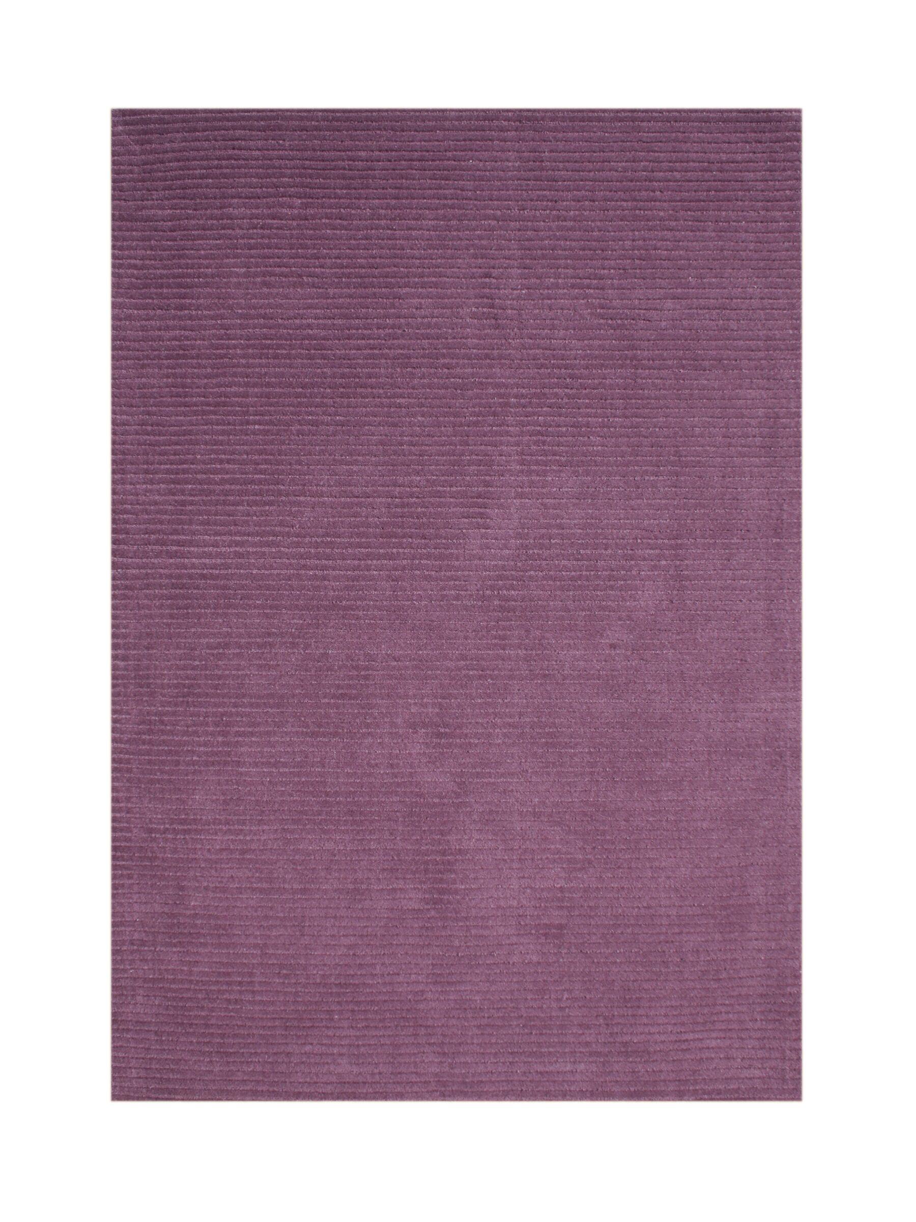 Boise Hand-Tufted Purple Area Rug