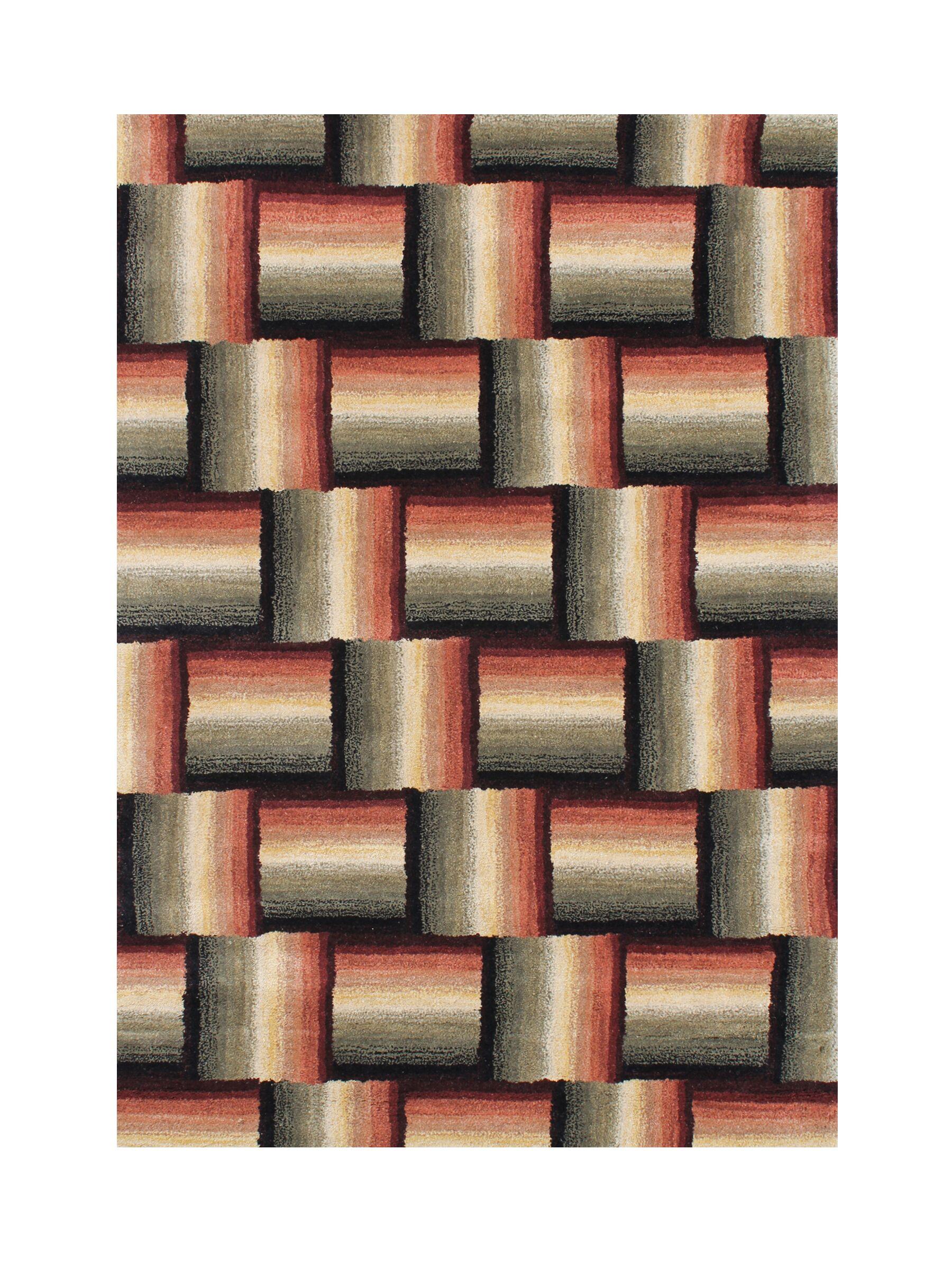 Idaho Hand-Tufted Area Rug Rug Size: 8' x 10'