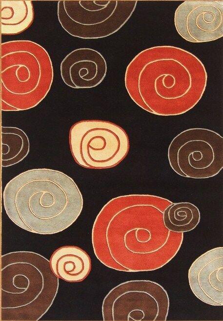 Christopher Hand-Tufted Black Area Rug