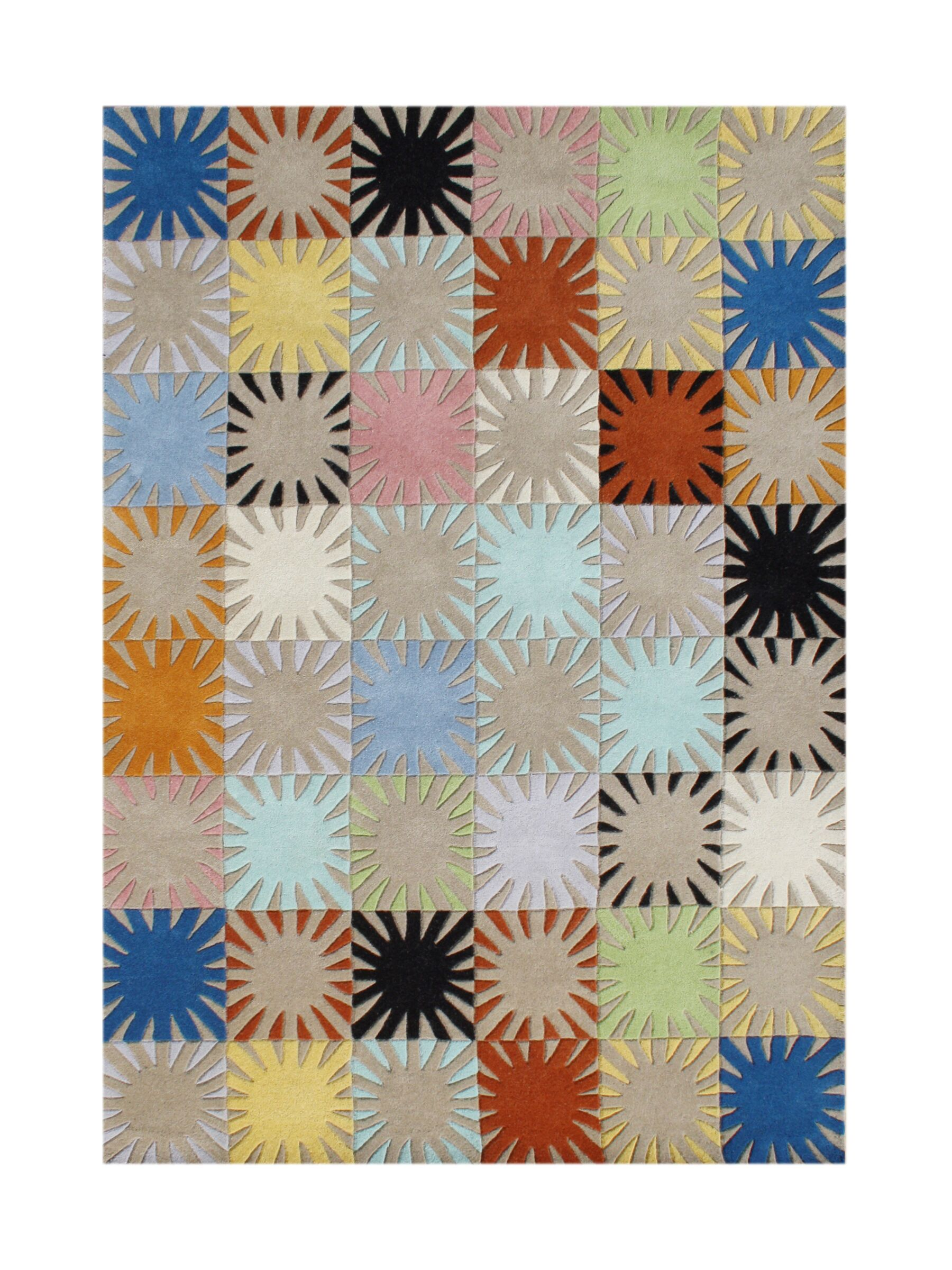 Lark Hand-Tufted Area Rug Rug Size: 5' x 8'