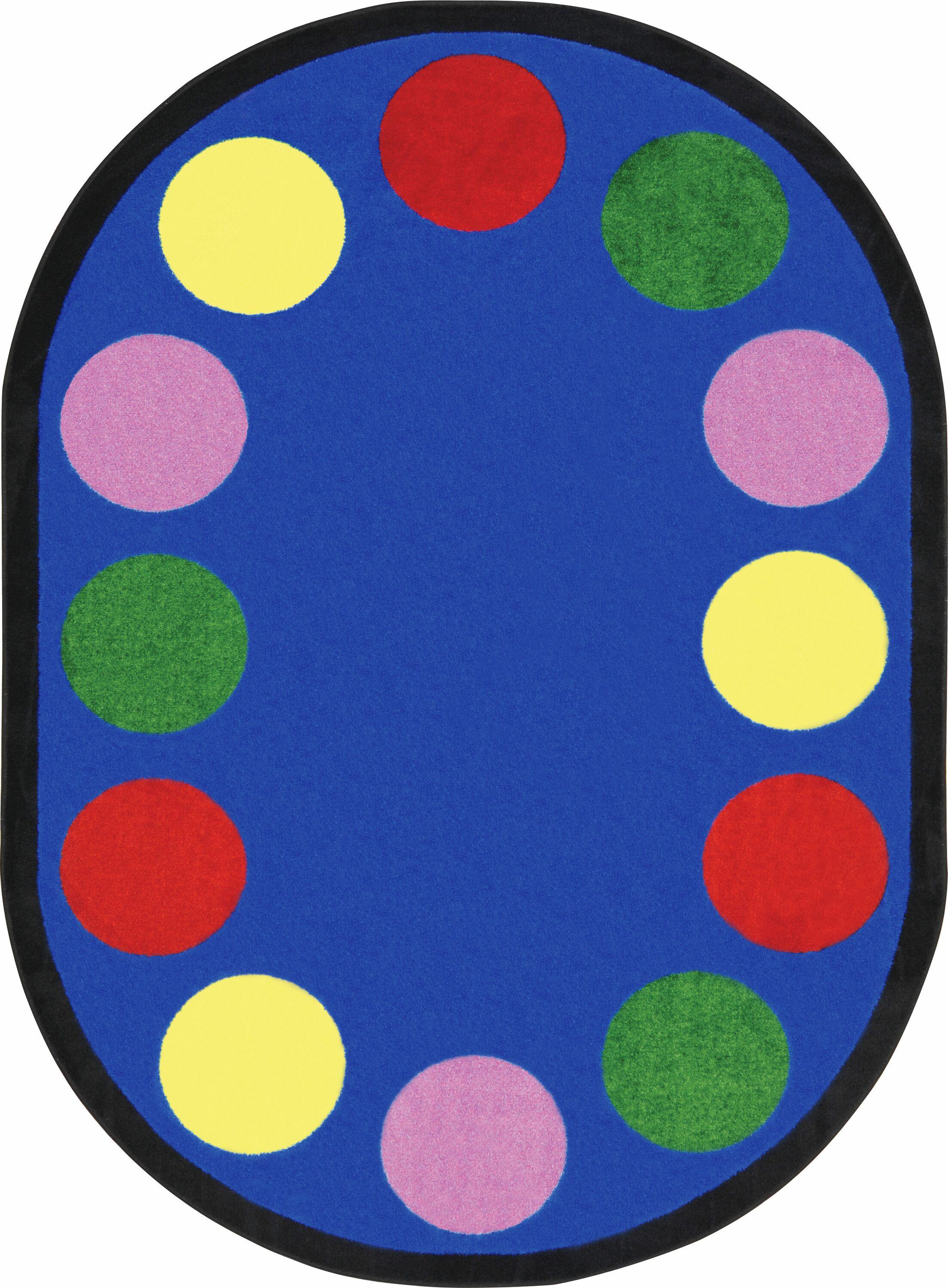 Area Rug Rug Size: Oval 7'8