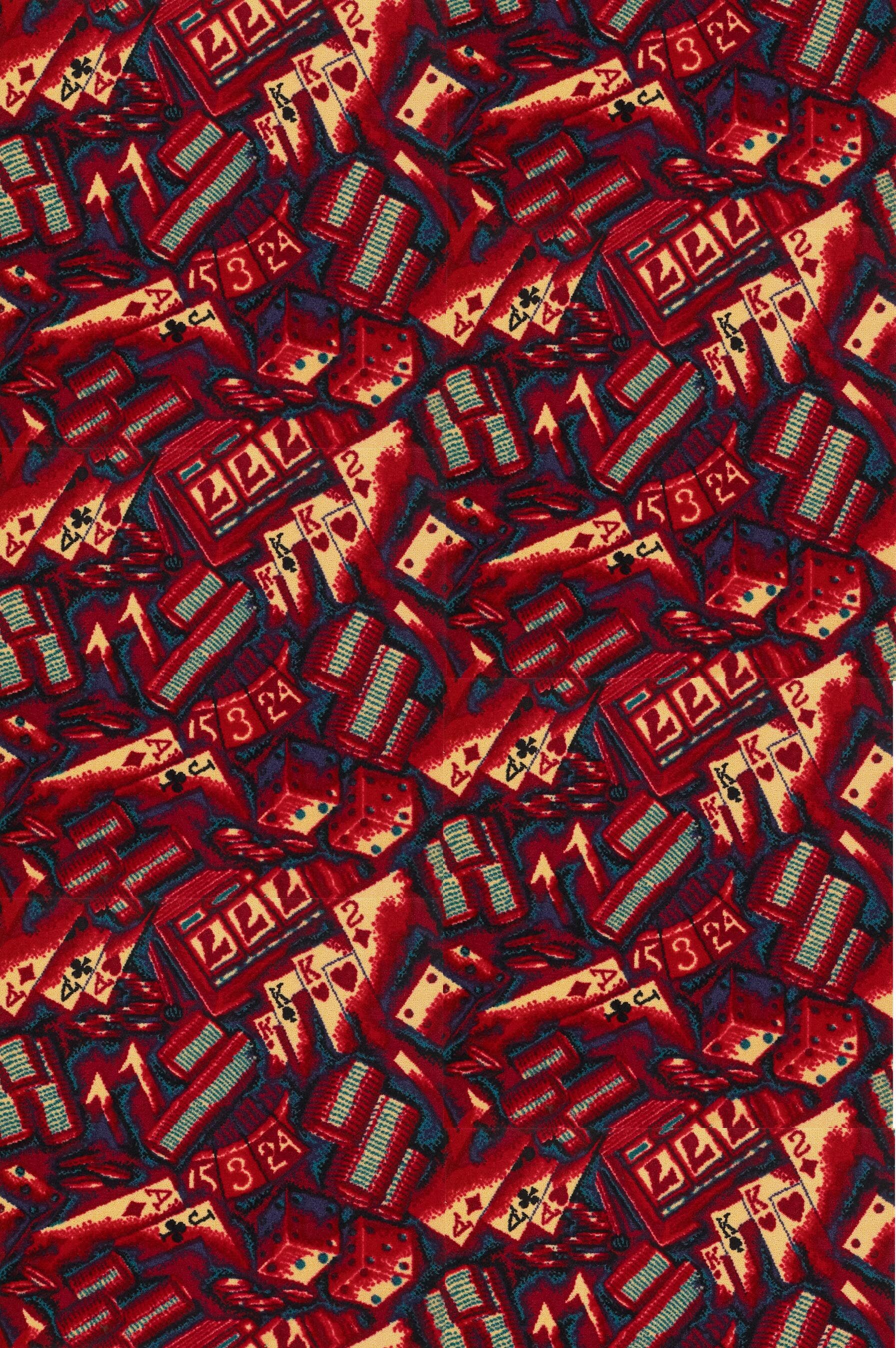 Red Area Rug Rug Size: Rectangle 12' x 15'