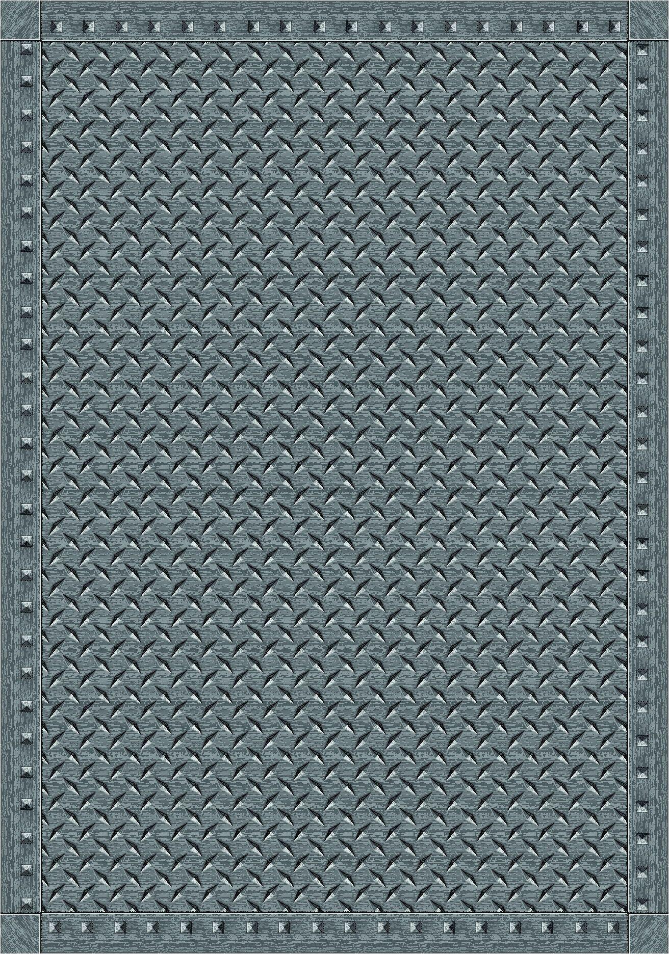 Gray Area Rug Rug Size: 3'10