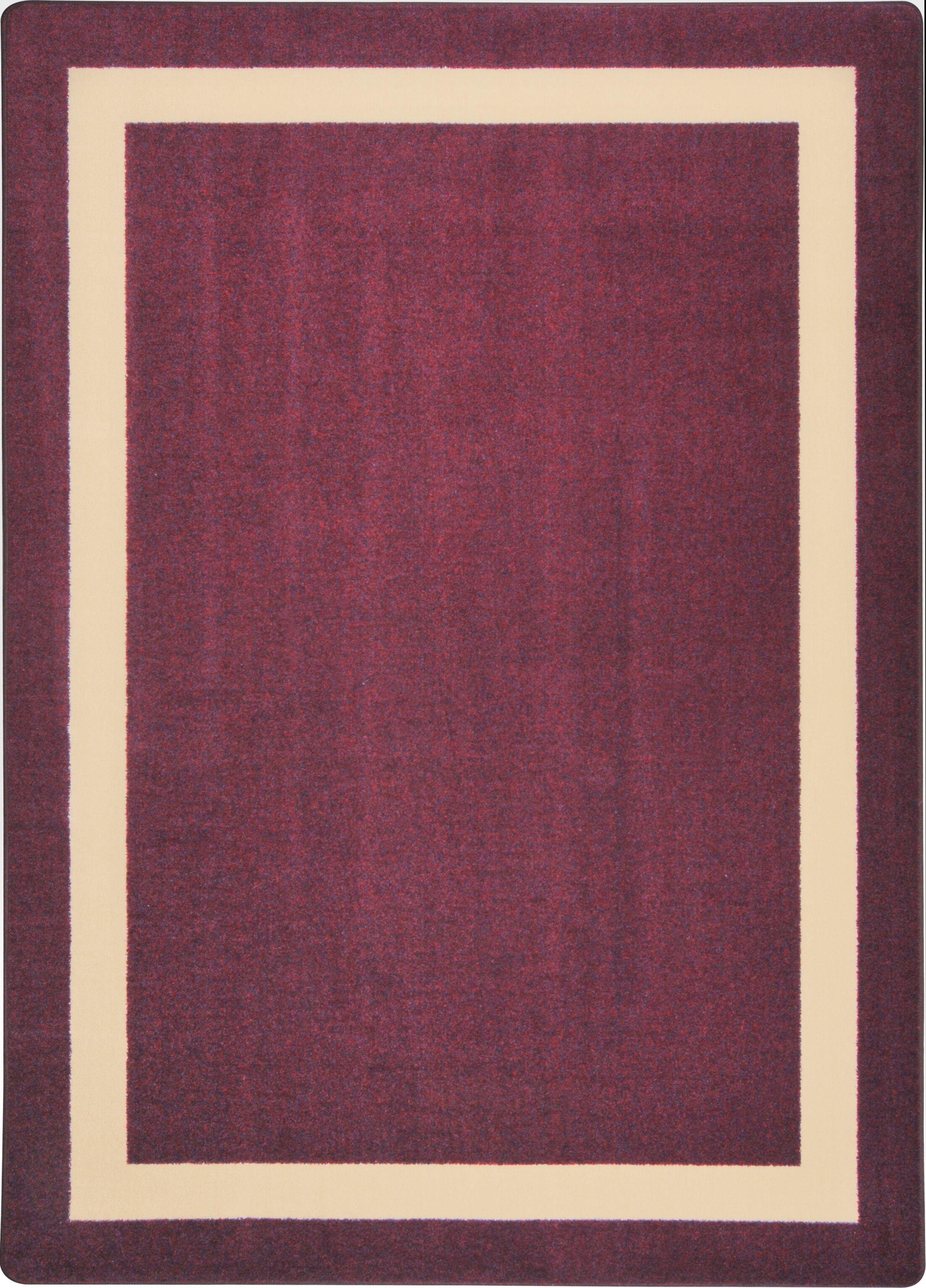 Purple Area Rug Rug Size: Rectangle 3'10