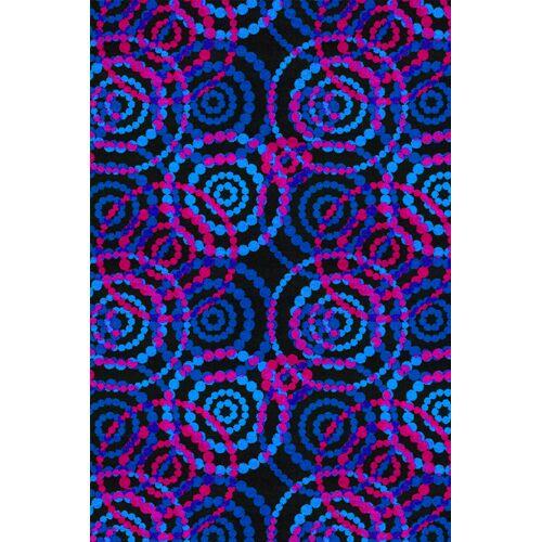 Dottie Fluorescent Area Rug Rug Size: Rectangle 12' x 15'
