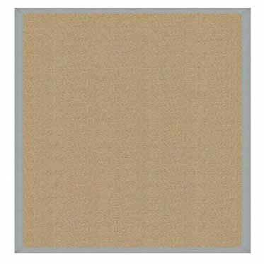Hand-Tufted Beige Area Rug Rug Size: Rectangle 4' x 6'