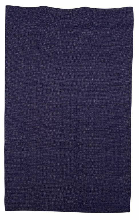 Hand-Woven Blue Kids Rug Rug Size: Rectangle 5'3