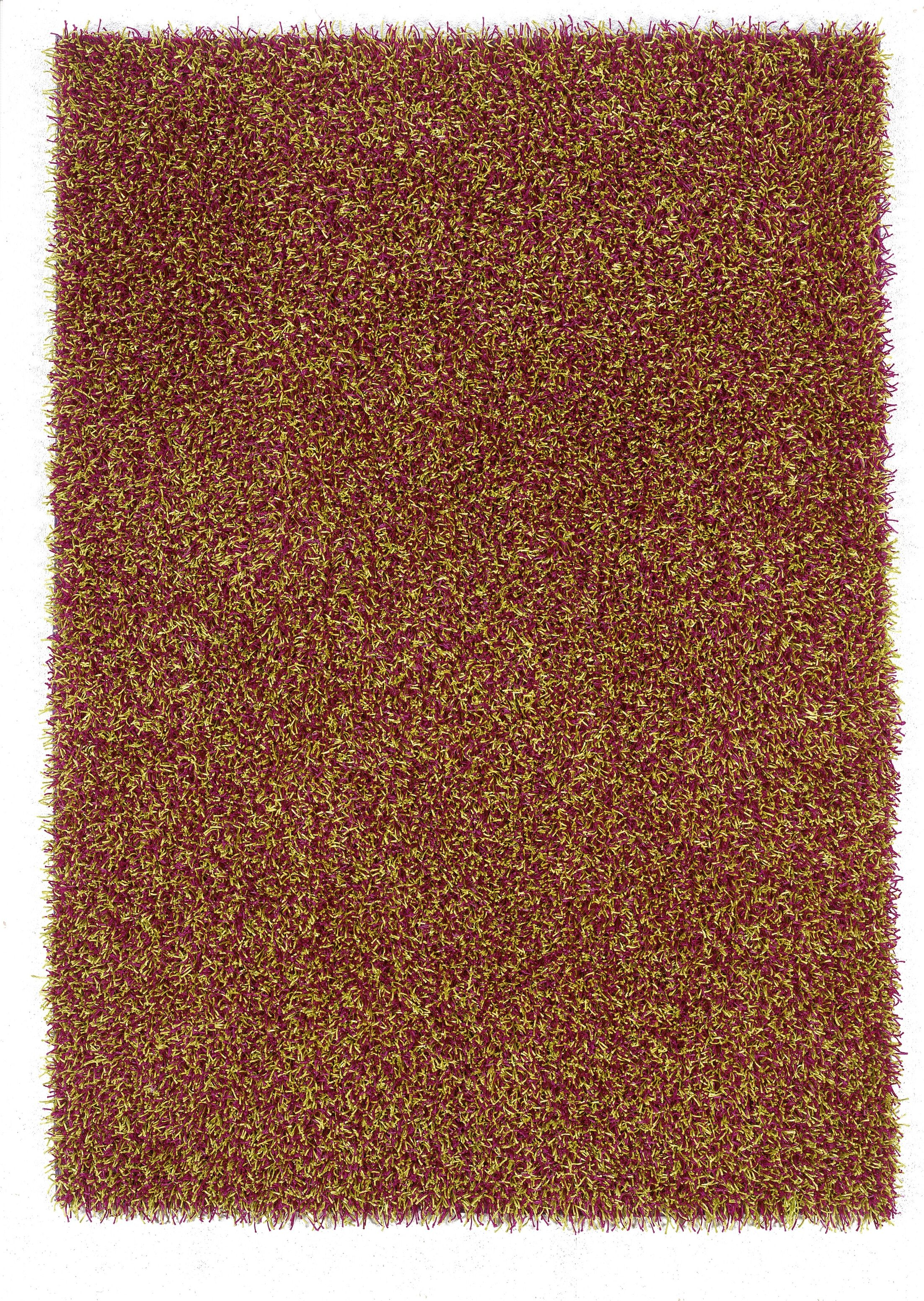 Hand-Tufted Brown Area Rug Rug Size: Rectangle 1'10