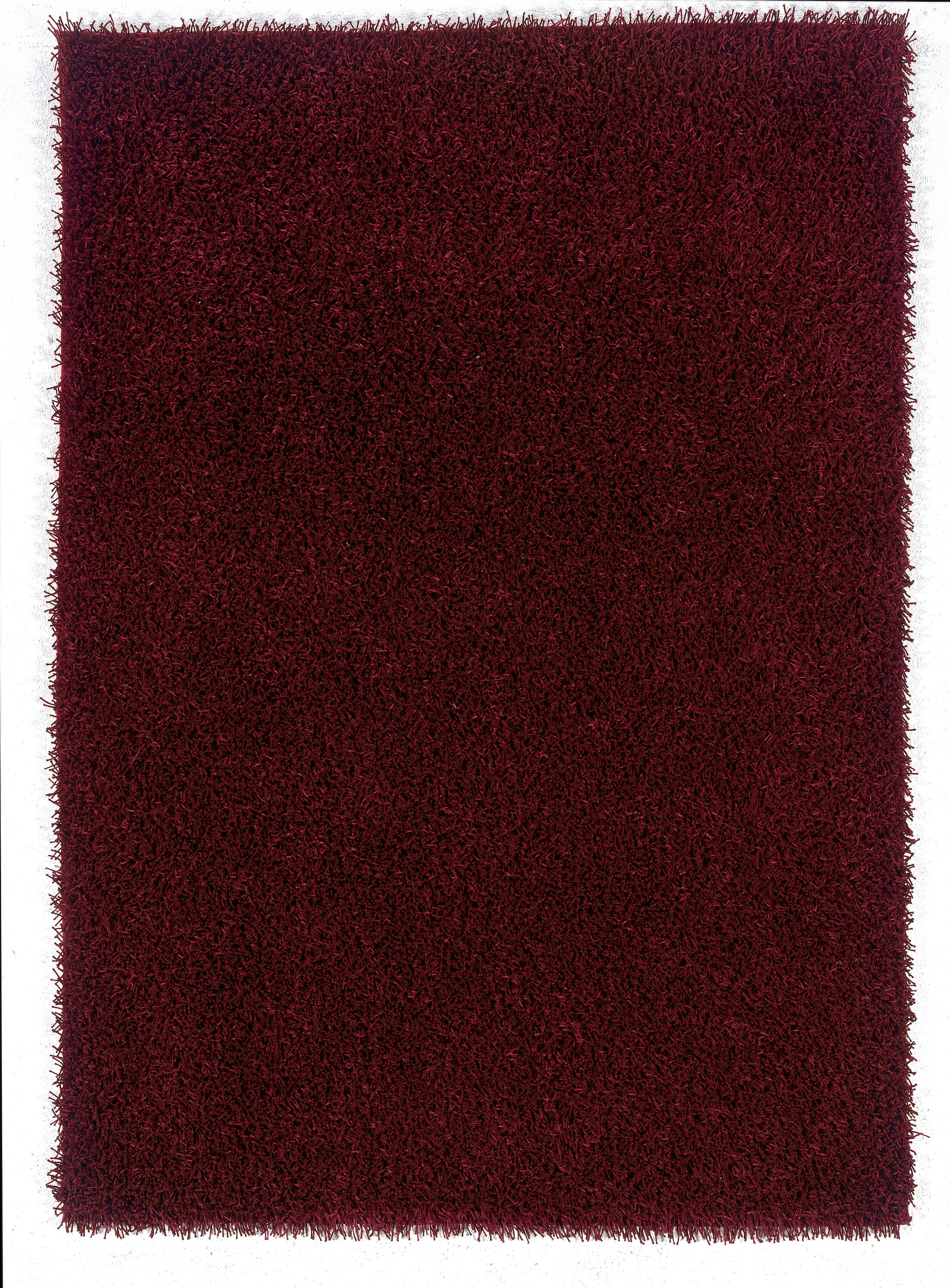 Hand-Woven Red Area Rug Rug Size: Rectangle 5' x 7'