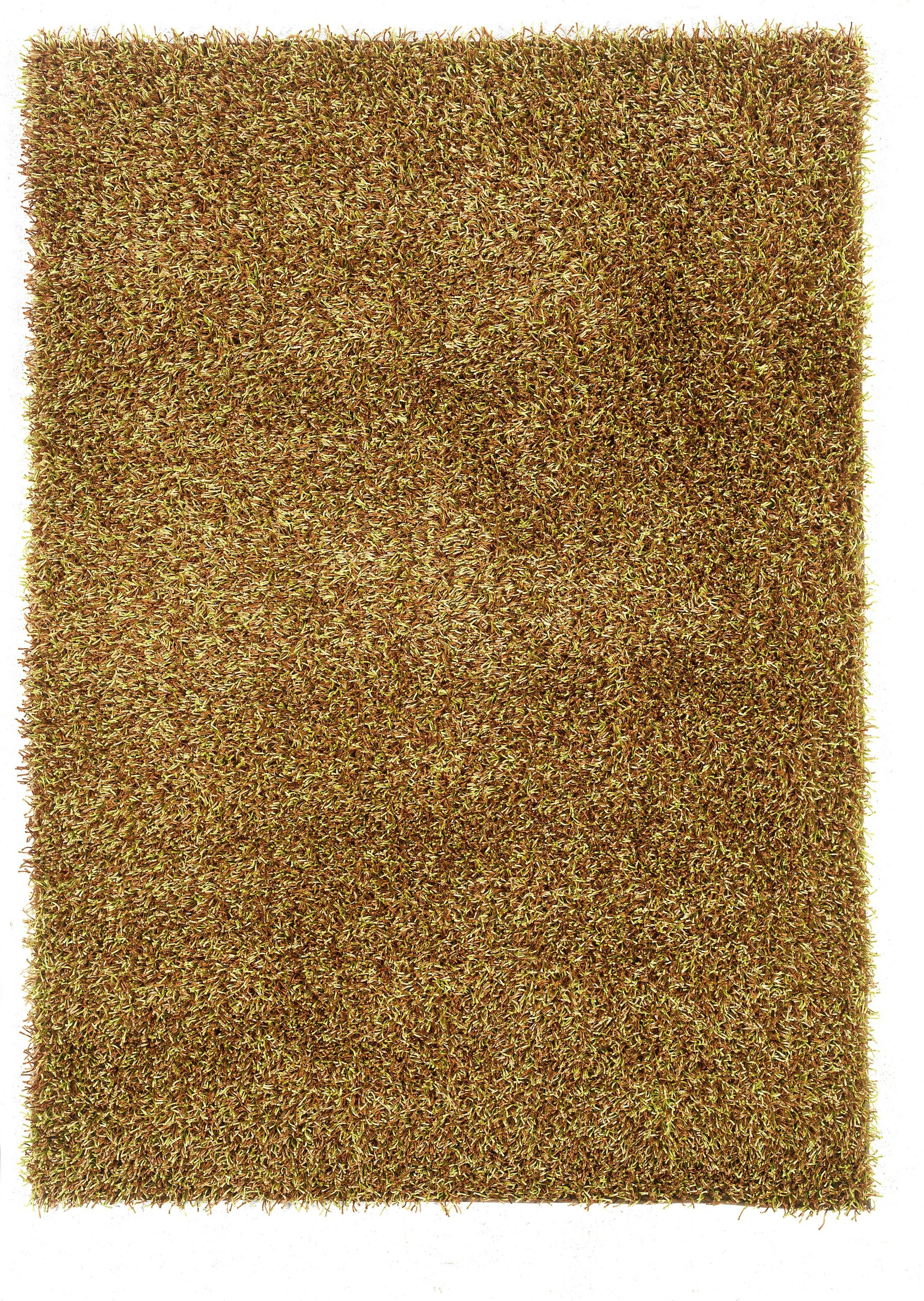 Hand-Tufted Brown Area Rug Rug Size: Rectangle 5' x 7'