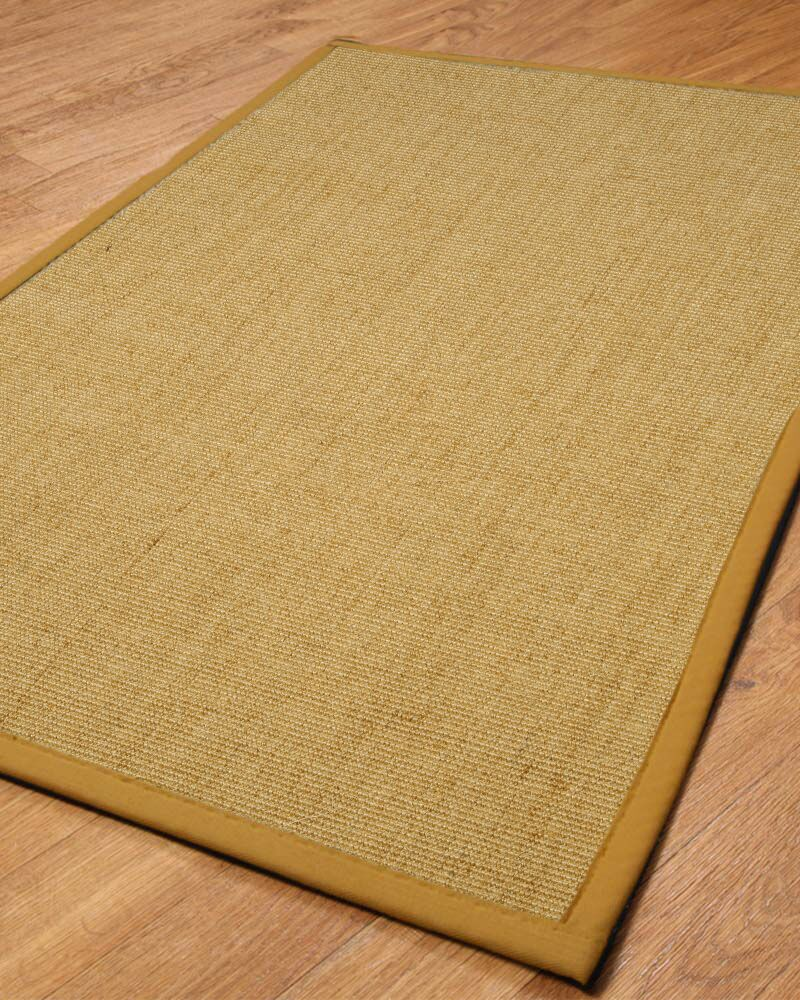 Handmade Sisal Area Rug Rug Size: Rectangle 2' x 3'