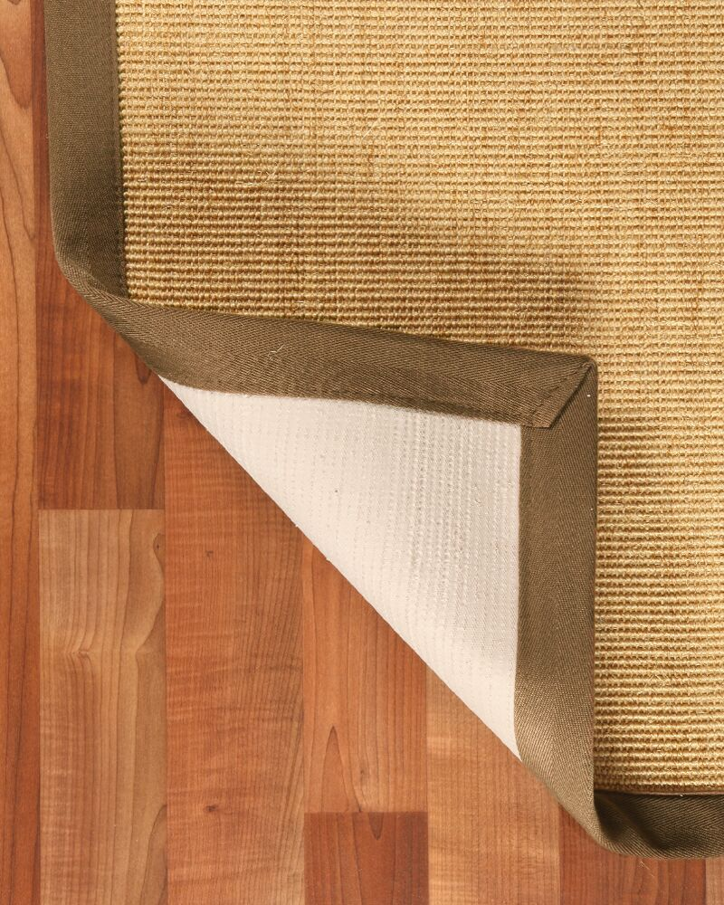 Hand-Woven Beige Area Rug Rug Size: Rectangle 6' x 9'