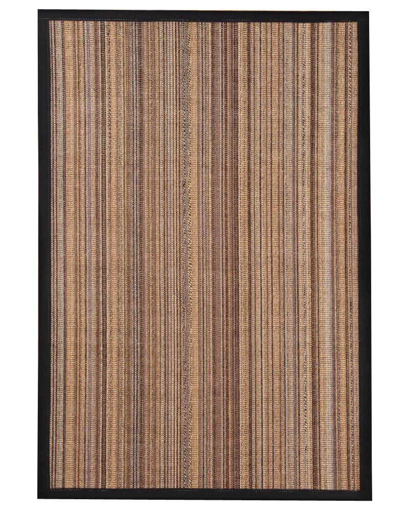 HandWoven Brown/Gray/Black Area Rug Rug Size: Rectangle 8' x 10'