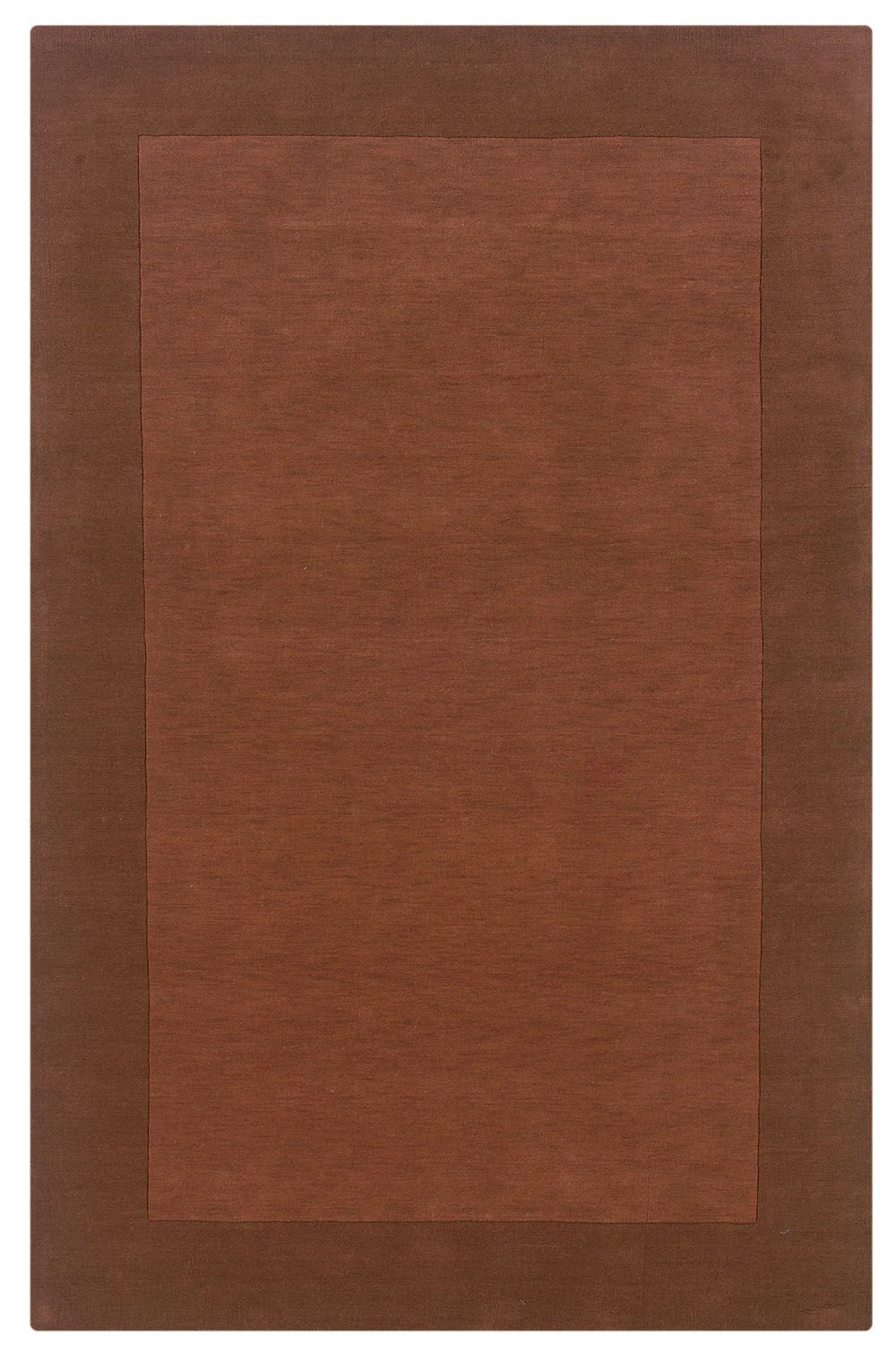 Hand-Woven Terracotta Area Rug Rug Size: Rectangle 8' x 10'