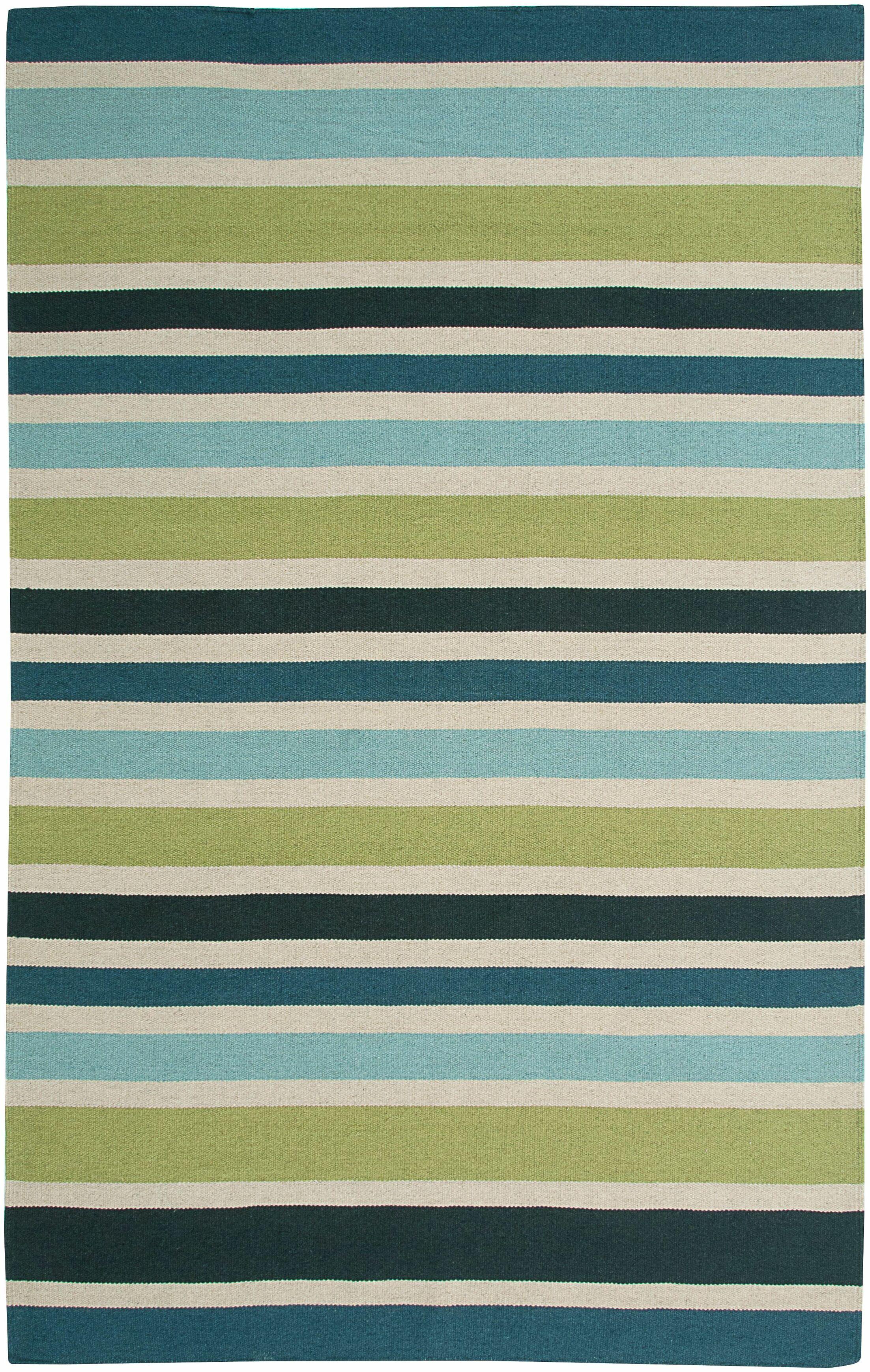 Hand-Woven Area Rug Rug Size: Rectangle 8' x 10'