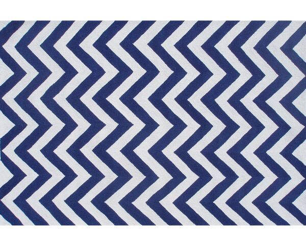 Handmade Blue Outdoor Area Rug Rug Size: Rectangle 2'8