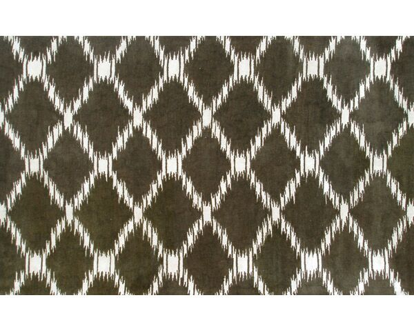 Hand-Tufted Brown Area Rug Rug Size: Rectangle 8' x 11'