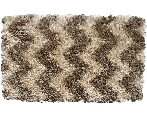 Handmade Brown Area Rug Rug Size: Rectangle 4'7